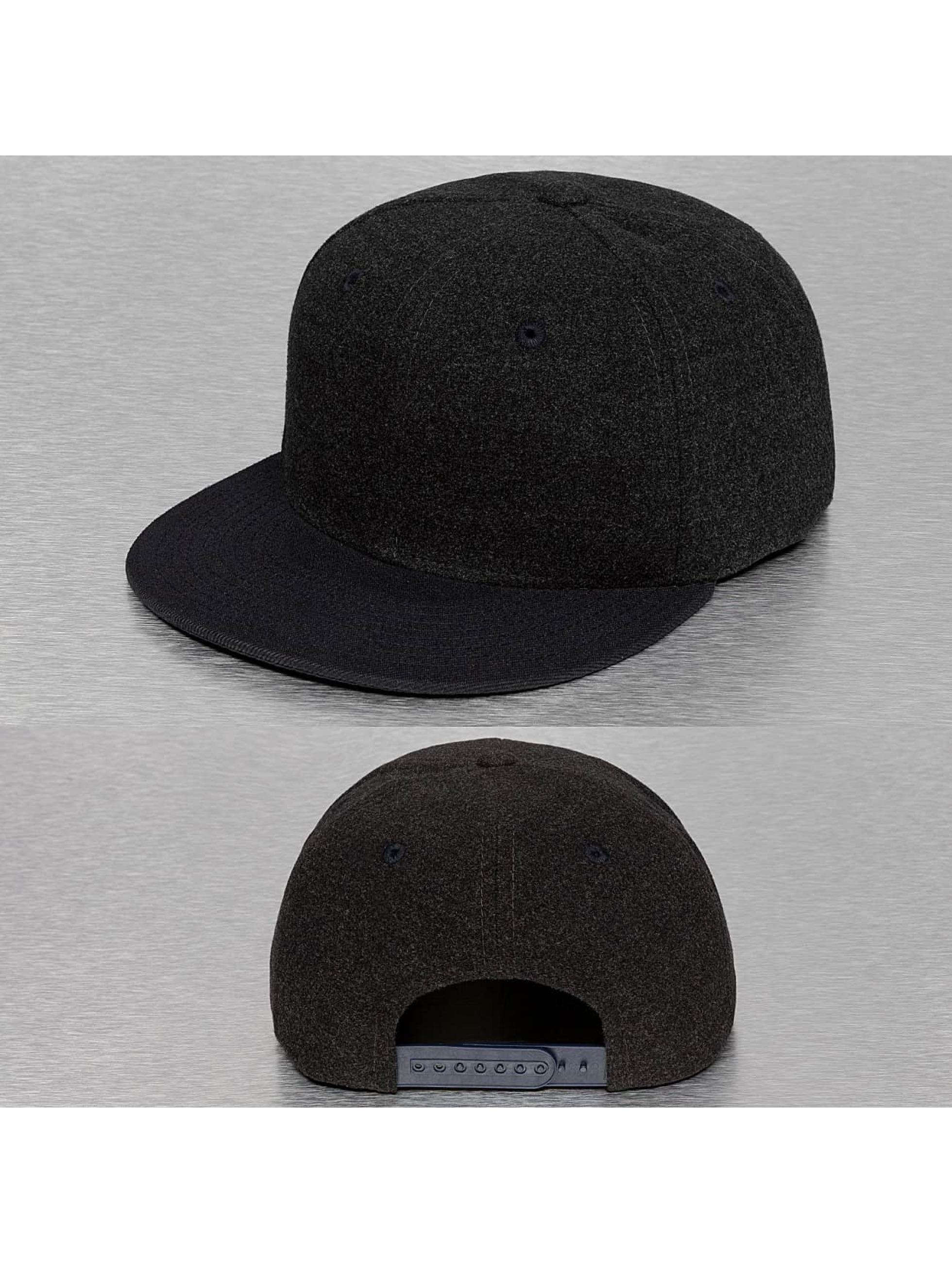 Cap Crony Casquette Snapback & Strapback Melton Crown gris