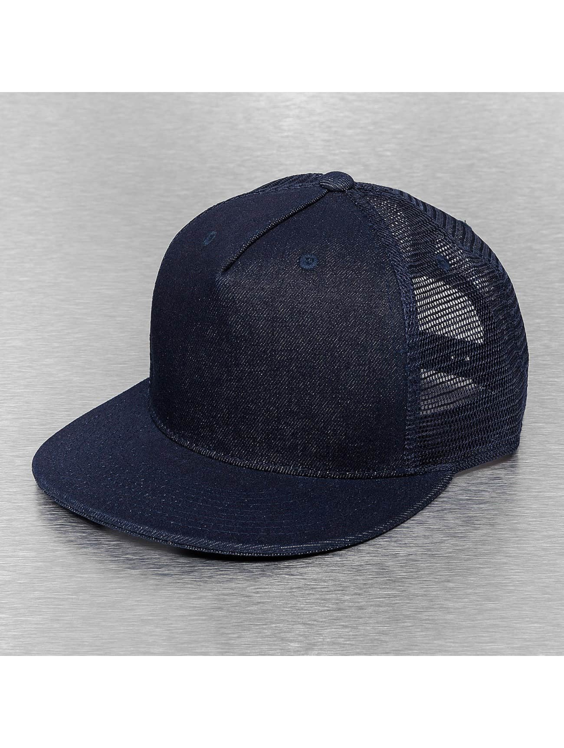 Cap Crony Casquette Trucker mesh Denim bleu