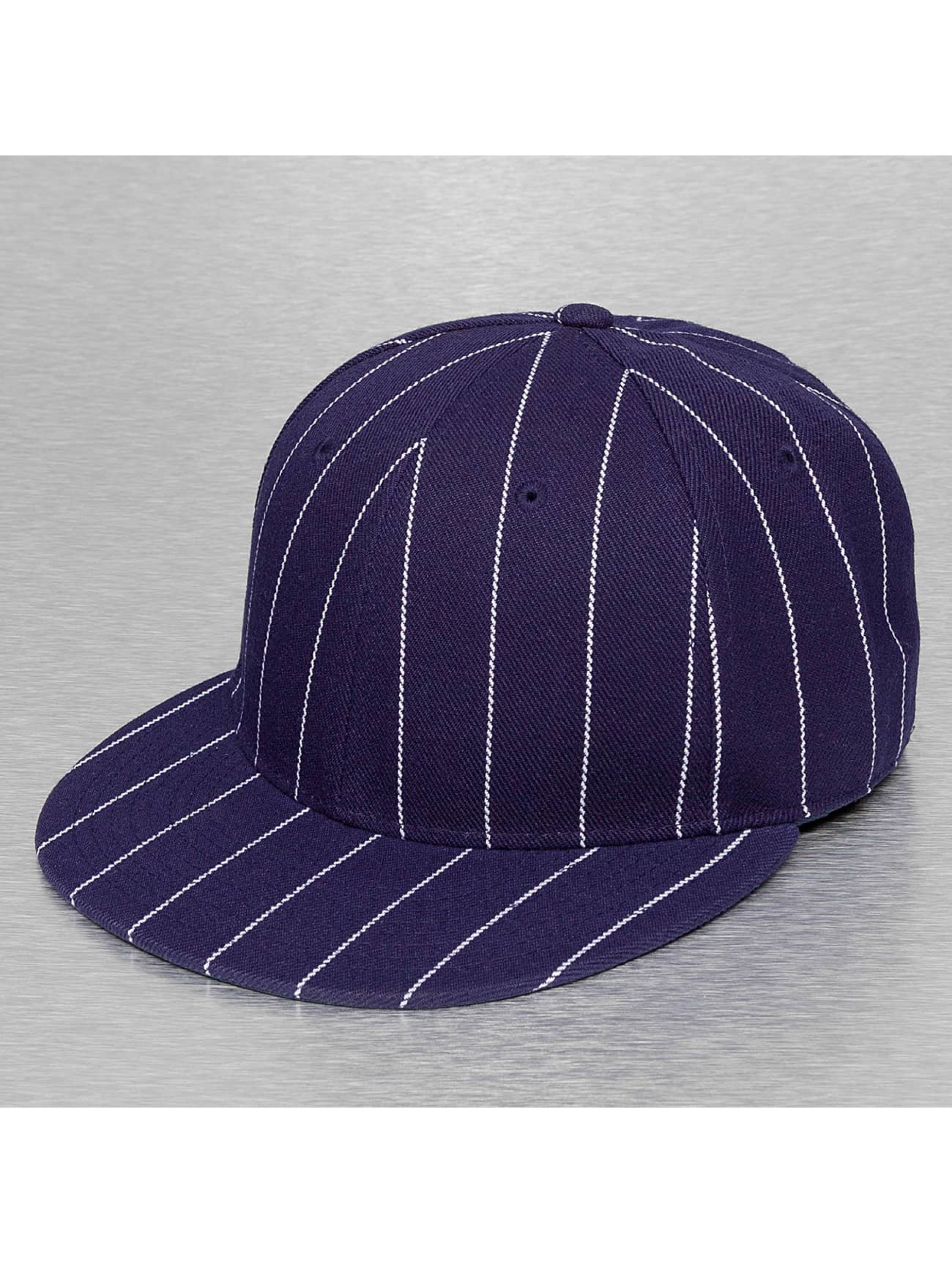 Cap Crony Fitted Cap Pin Striped blauw