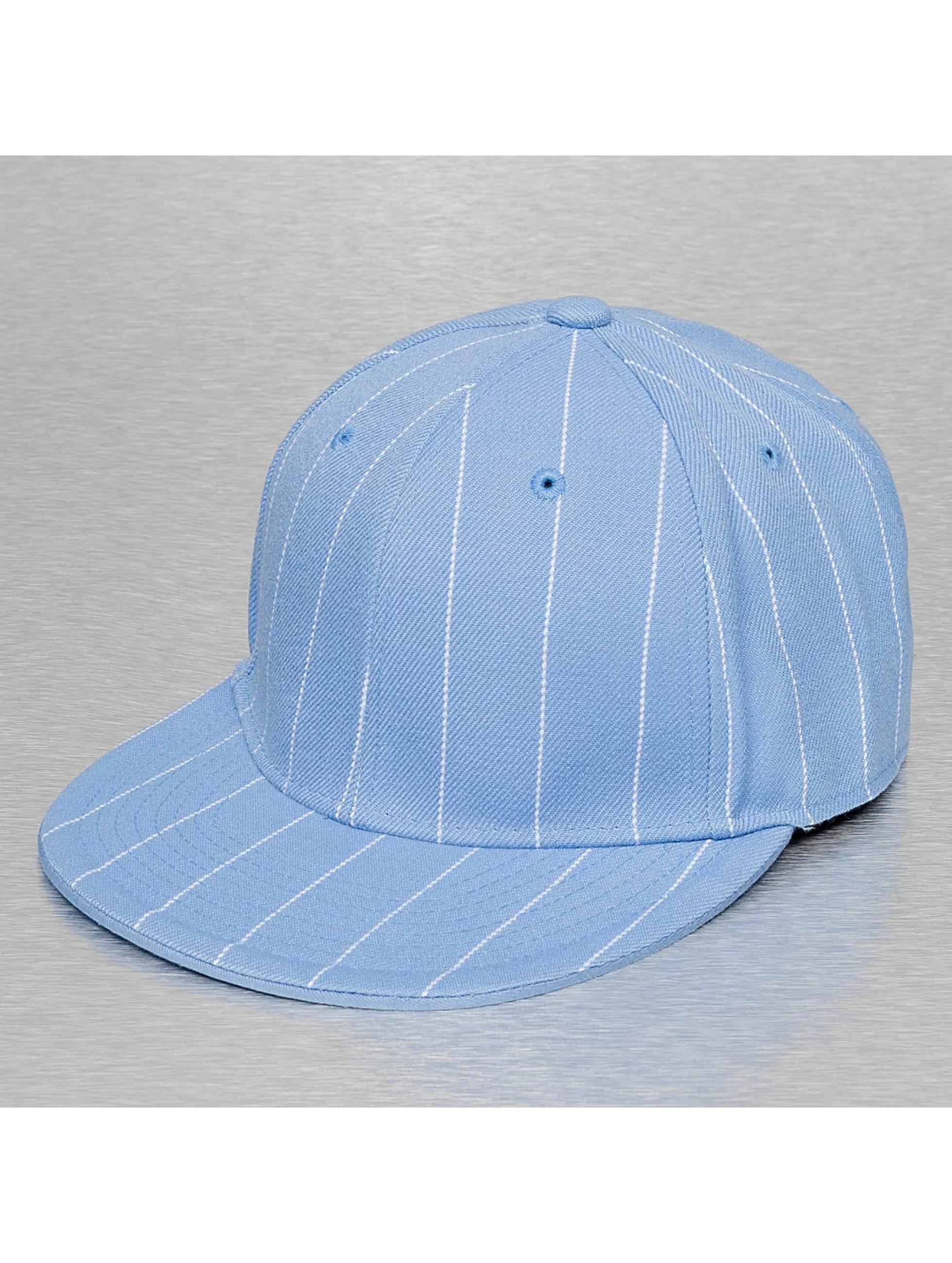 Cap Crony Hip hop -lippikset Pin Striped sininen