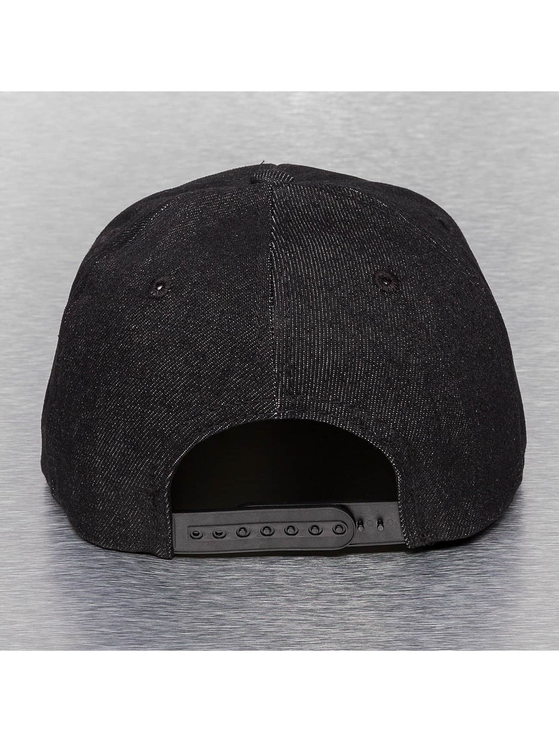 Cap Crony snapback cap Denim zwart