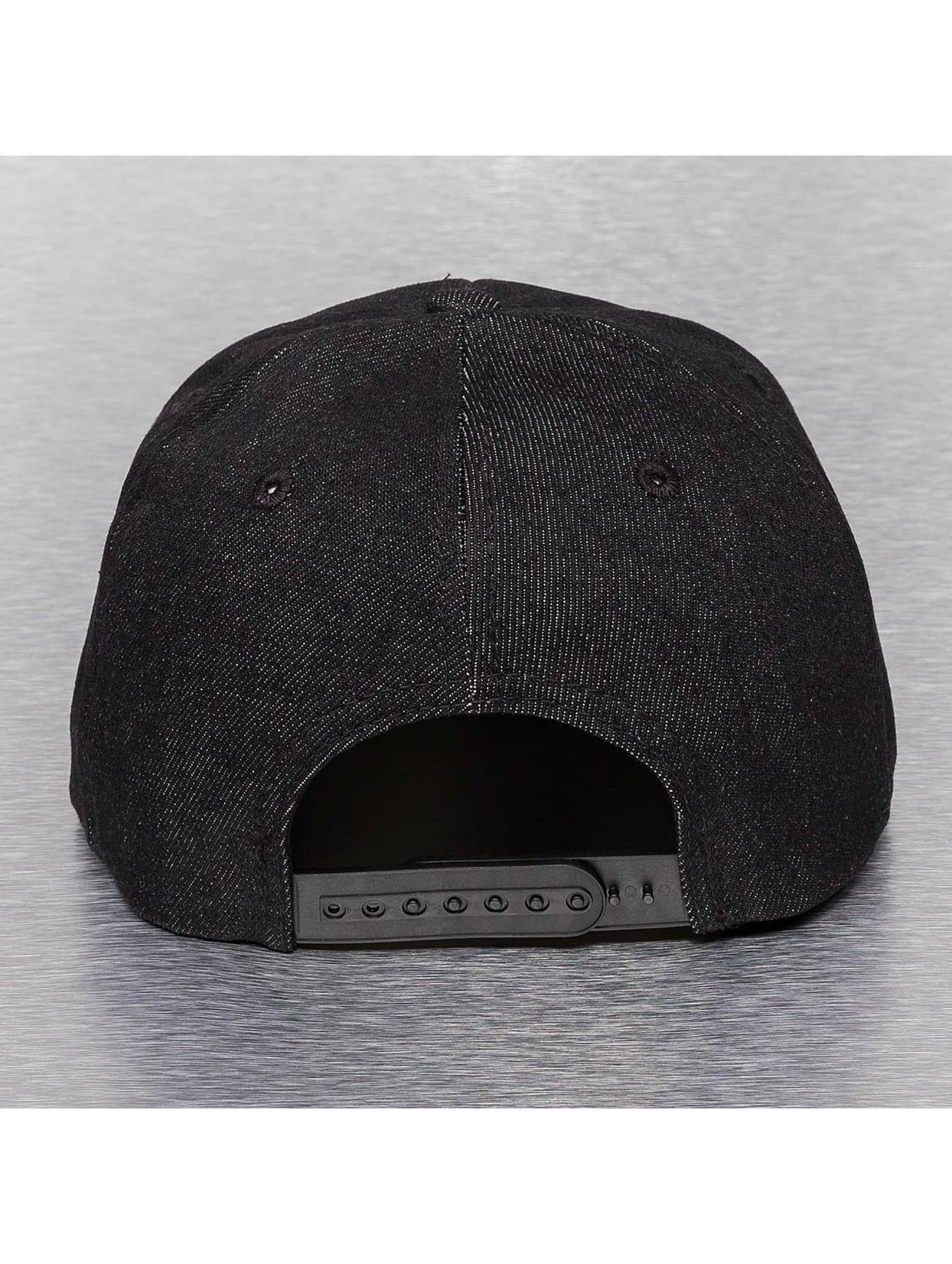 Cap Crony Snapback Caps Denim musta