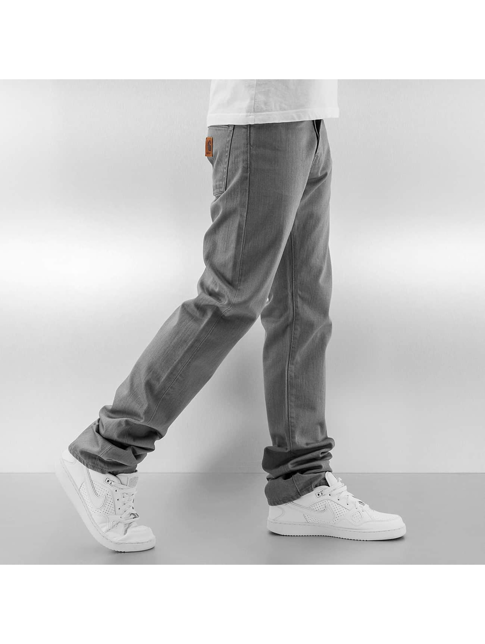 Carhartt WIP Джинсы прямого покроя WIP Orleans Slim Fit Klondike серый