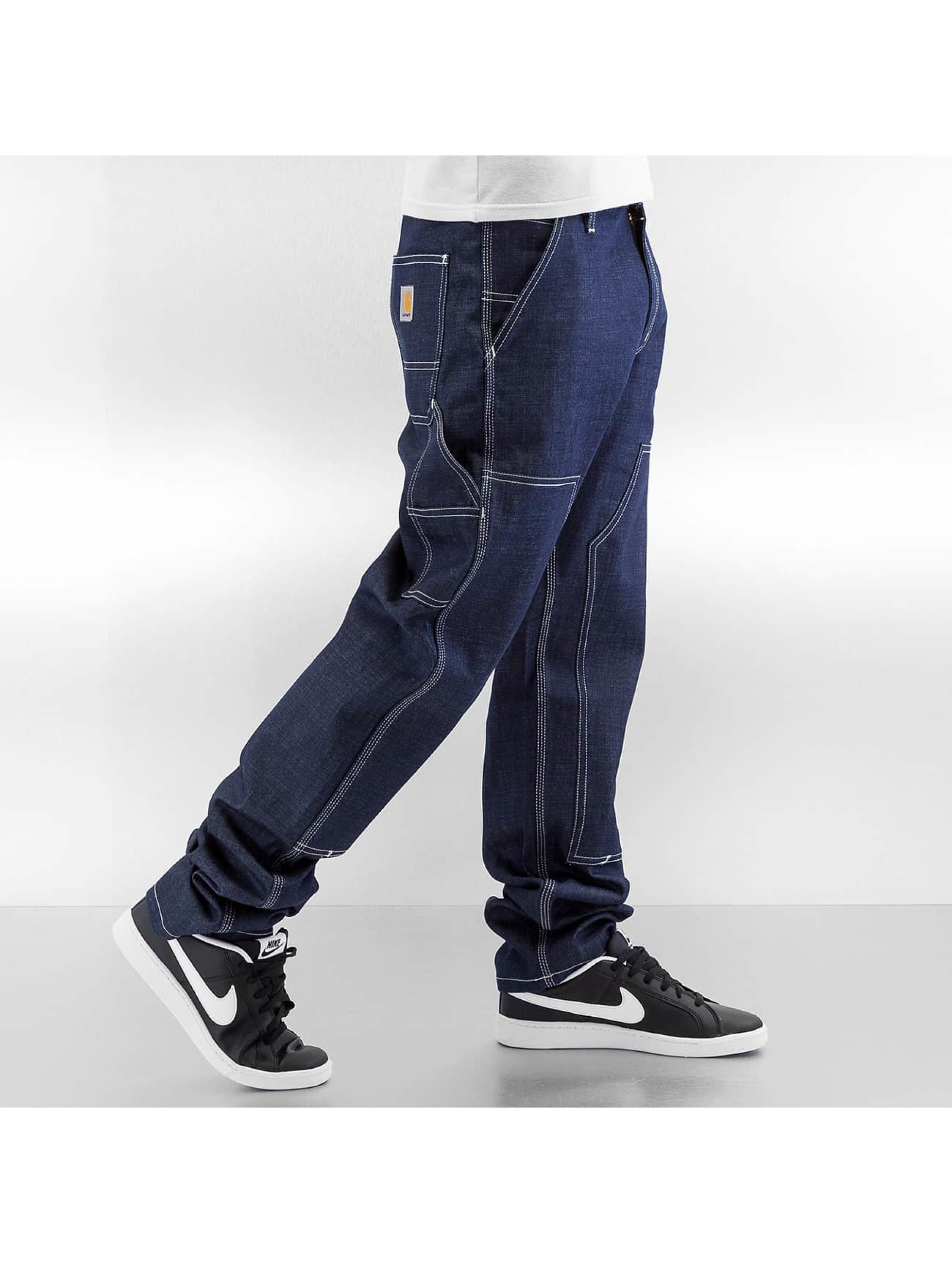 Carhartt WIP Джинсы прямого покроя Ruck Double Knee синий