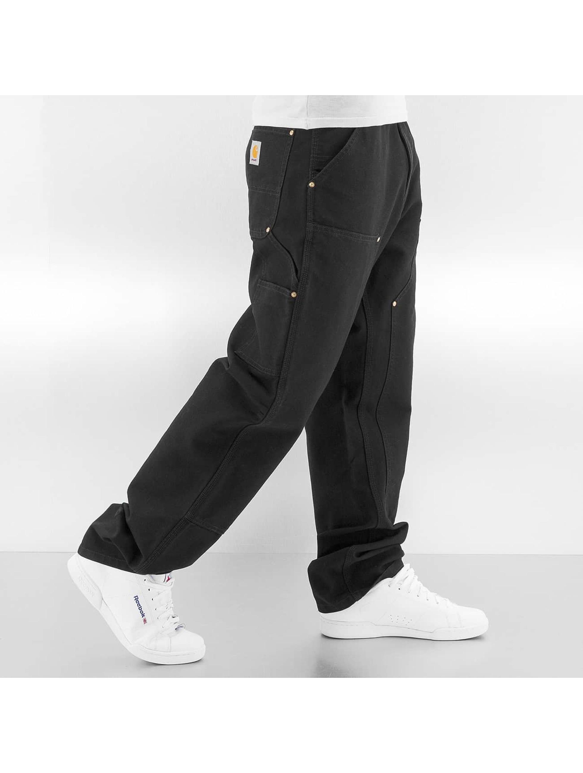 Carhartt WIP Джинсы прямого покроя Turner Double Knee черный