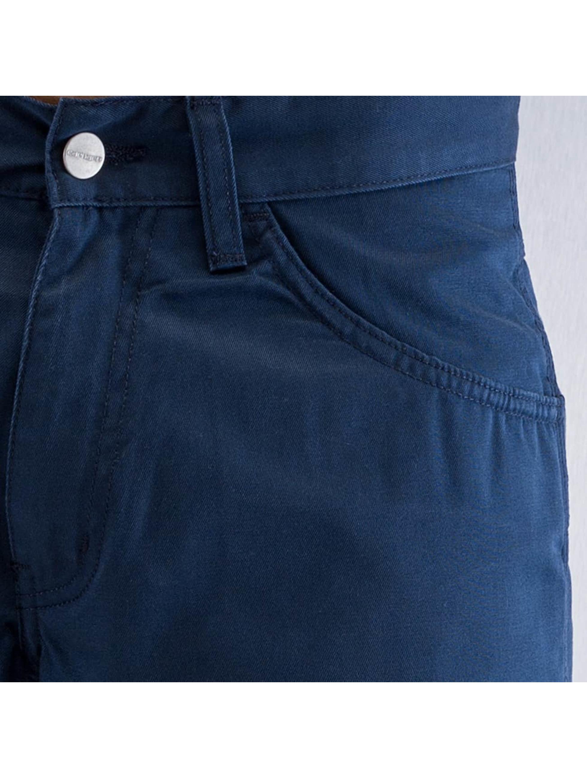 Carhartt WIP Джинсы-трубы Cortez Slim Fit Skill синий