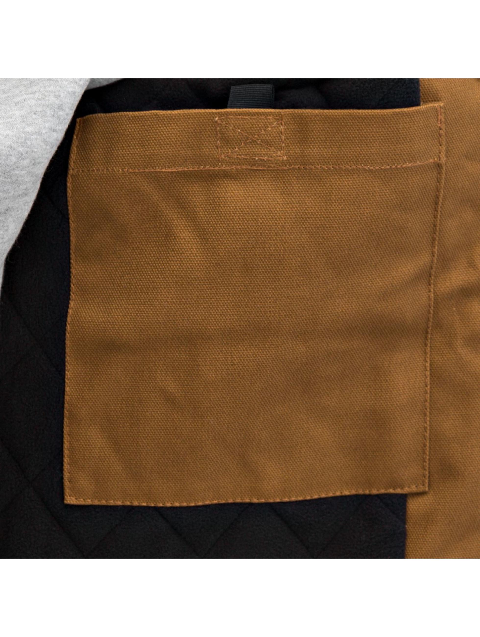 Carhartt WIP Зимняя куртка Dearborn Canvas Active коричневый