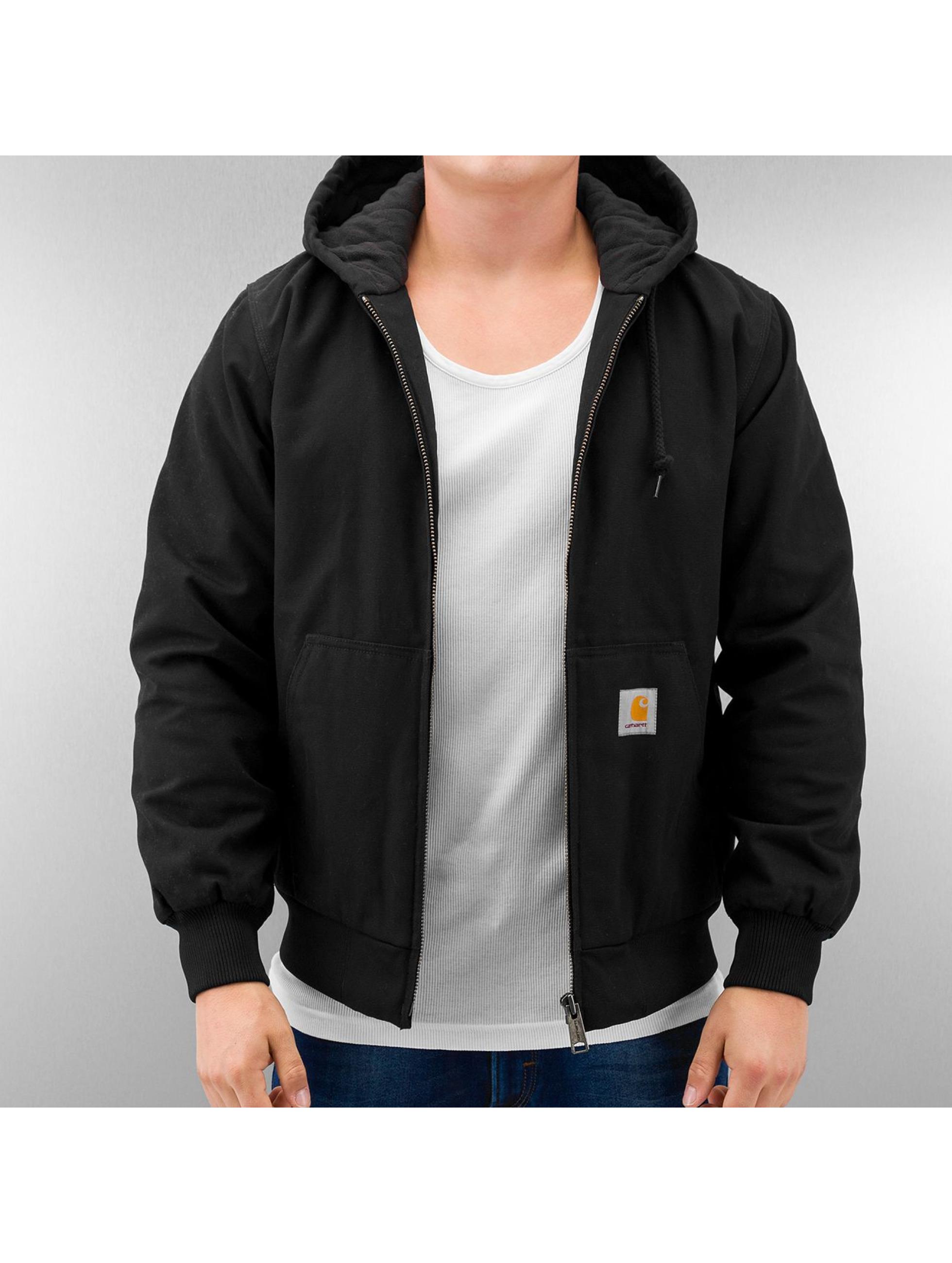 Carhartt WIP Зимняя куртка Dearborn Canvas Active черный