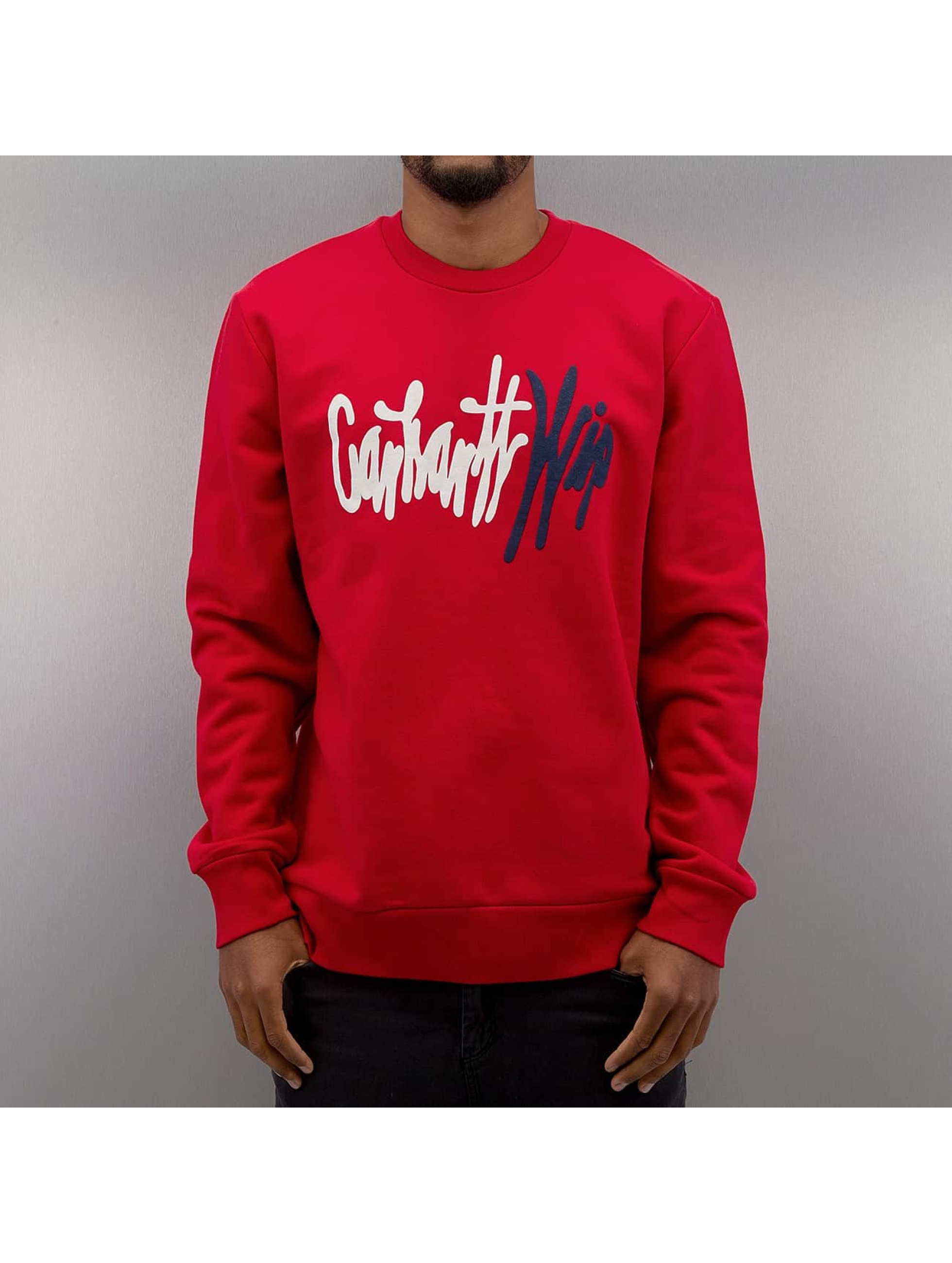 Carhartt WIP Пуловер Wavy красный
