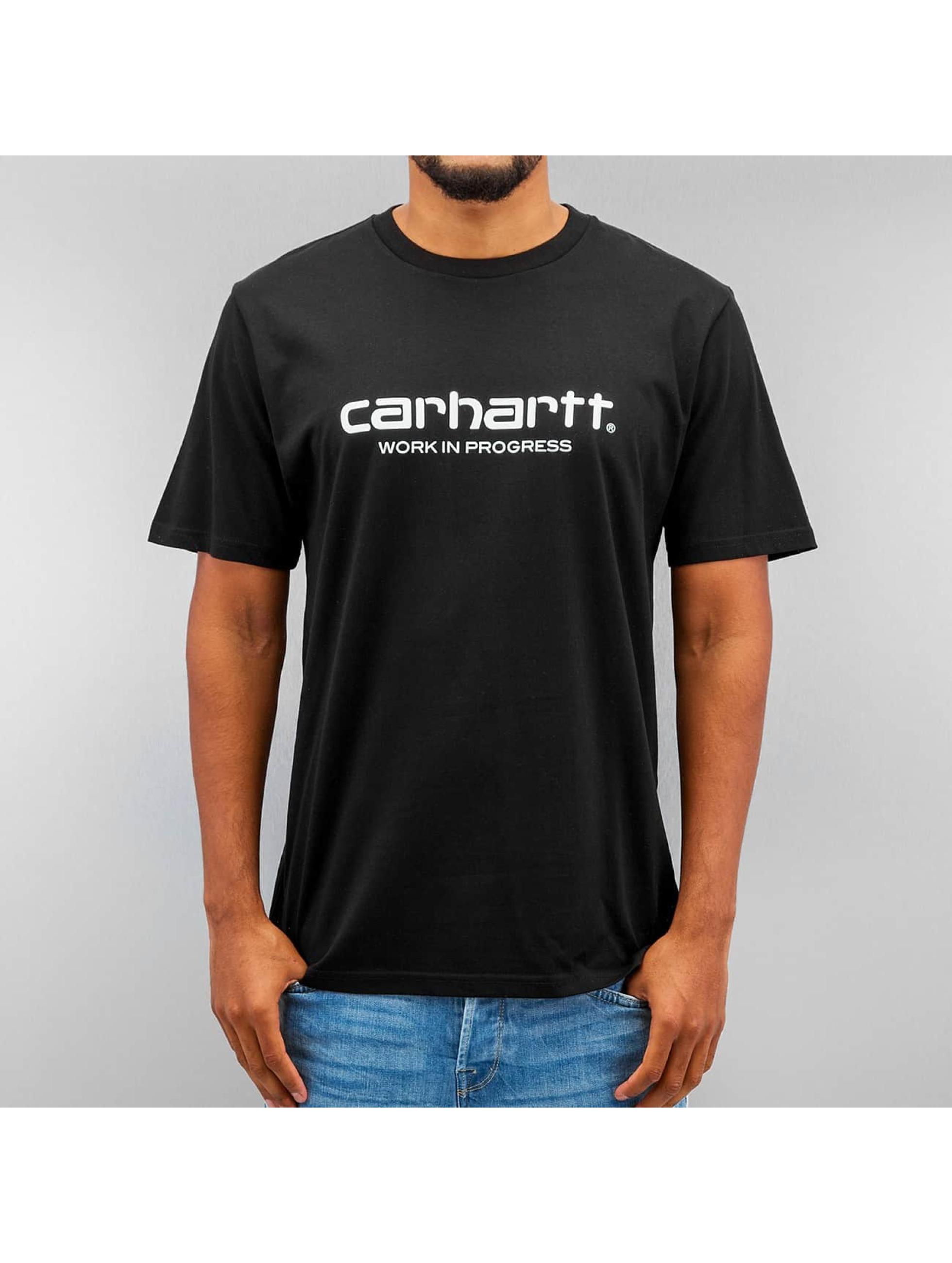 Carhartt WIP Футболка S/S Wip Script черный