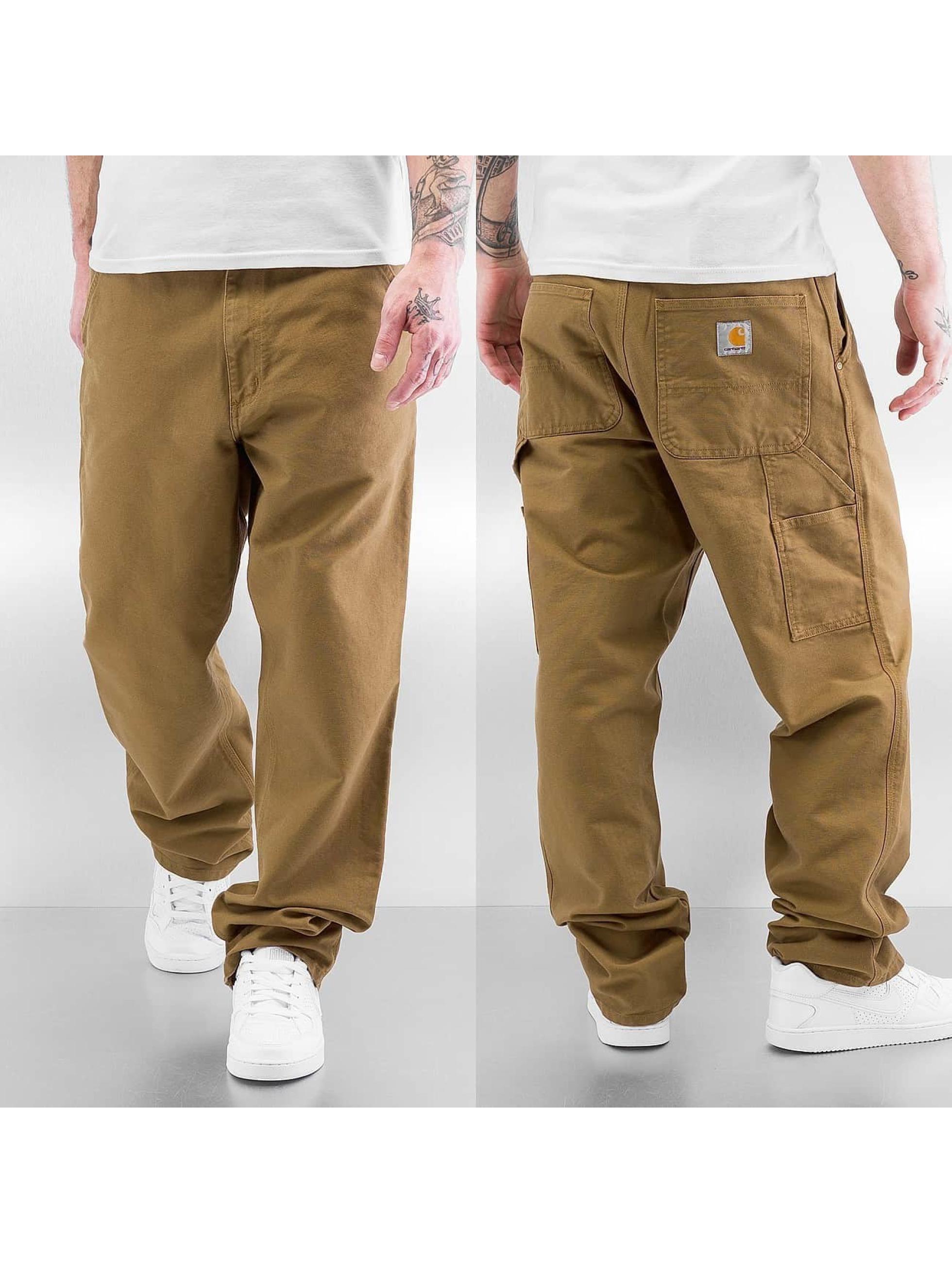 Carhartt WIP Чинос Turner Single Knee коричневый