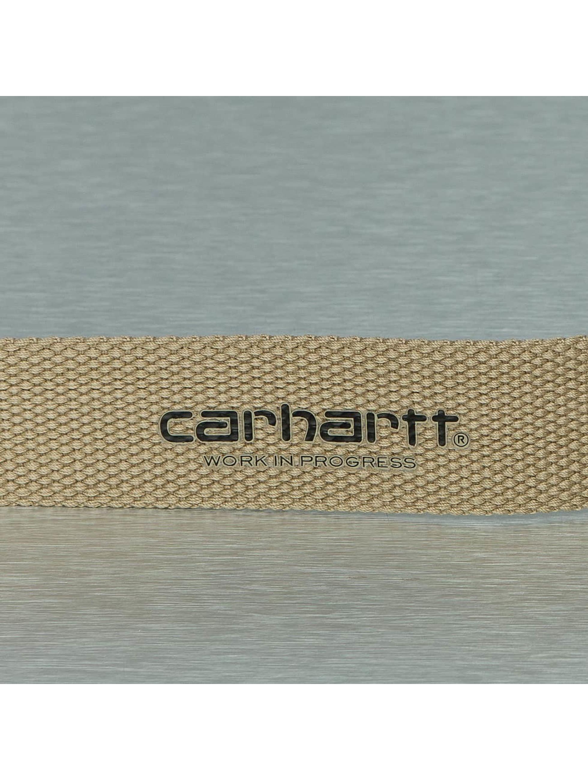 Carhartt WIP Belt Clip Belt beige