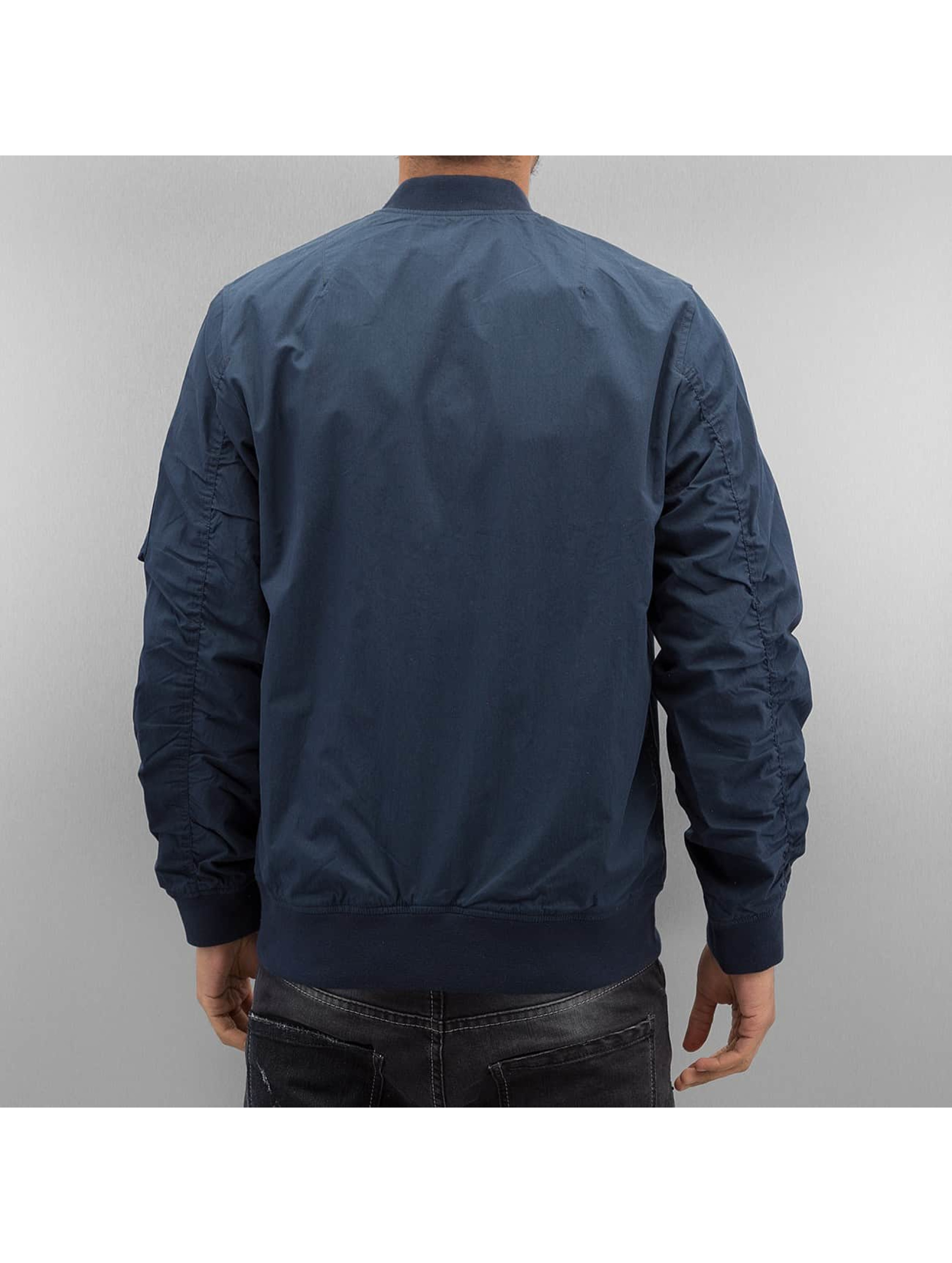 Carhartt WIP Bomber jacket Adams blue