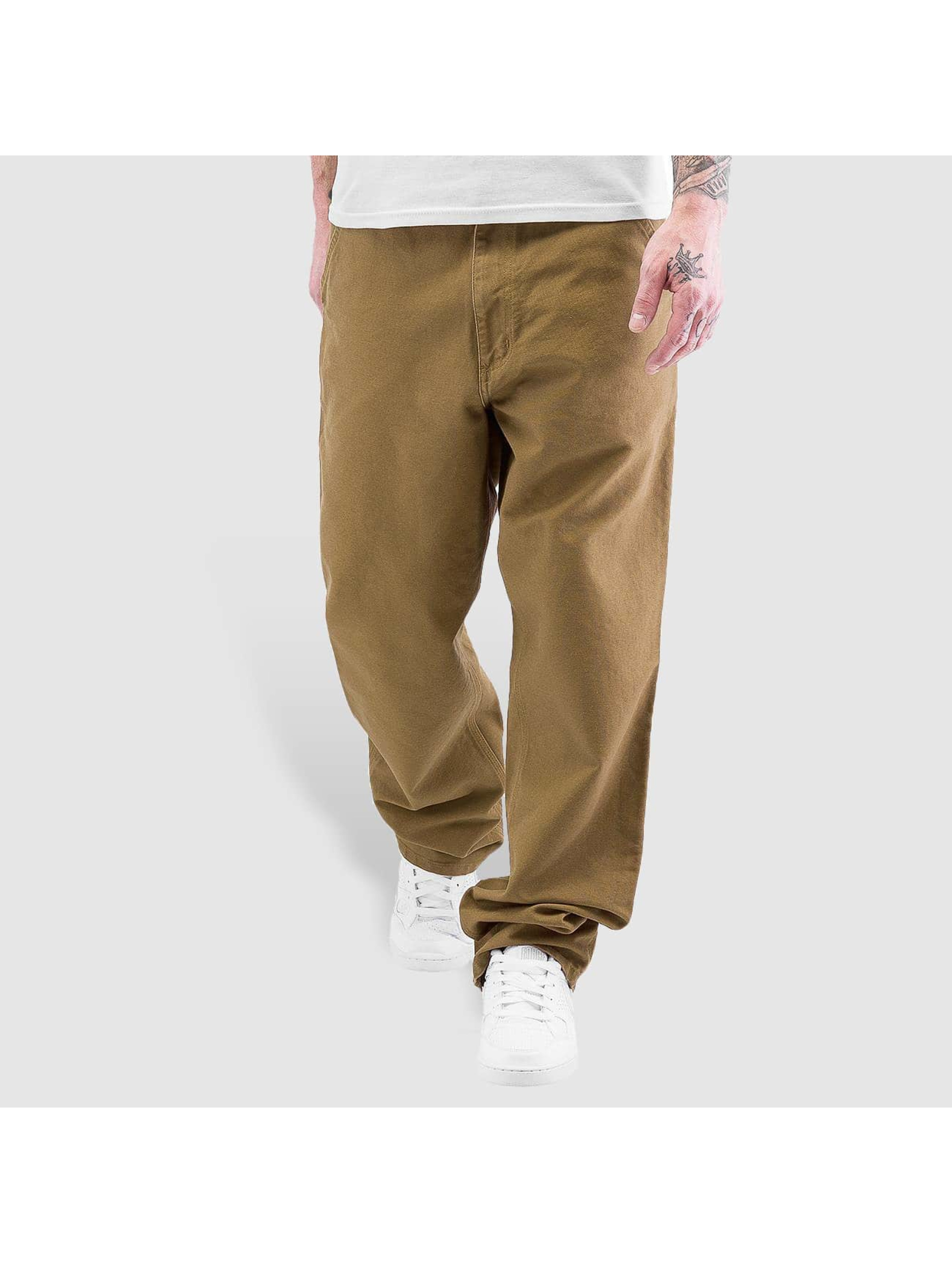 Carhartt WIP Chinot/Kangashousut Turner Single Knee ruskea