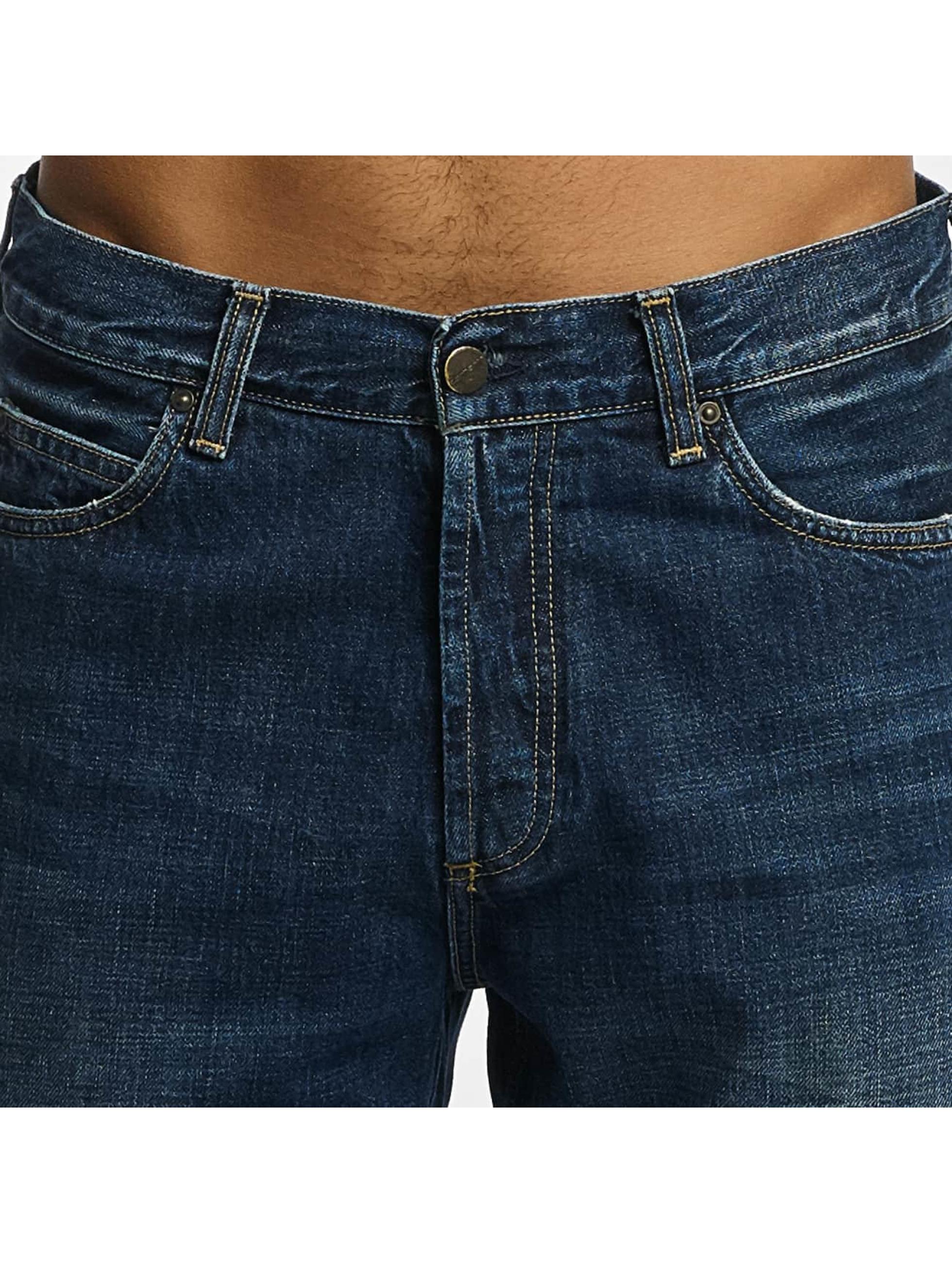 Carhartt WIP Dżinsy straight fit Edgewood Marlow niebieski