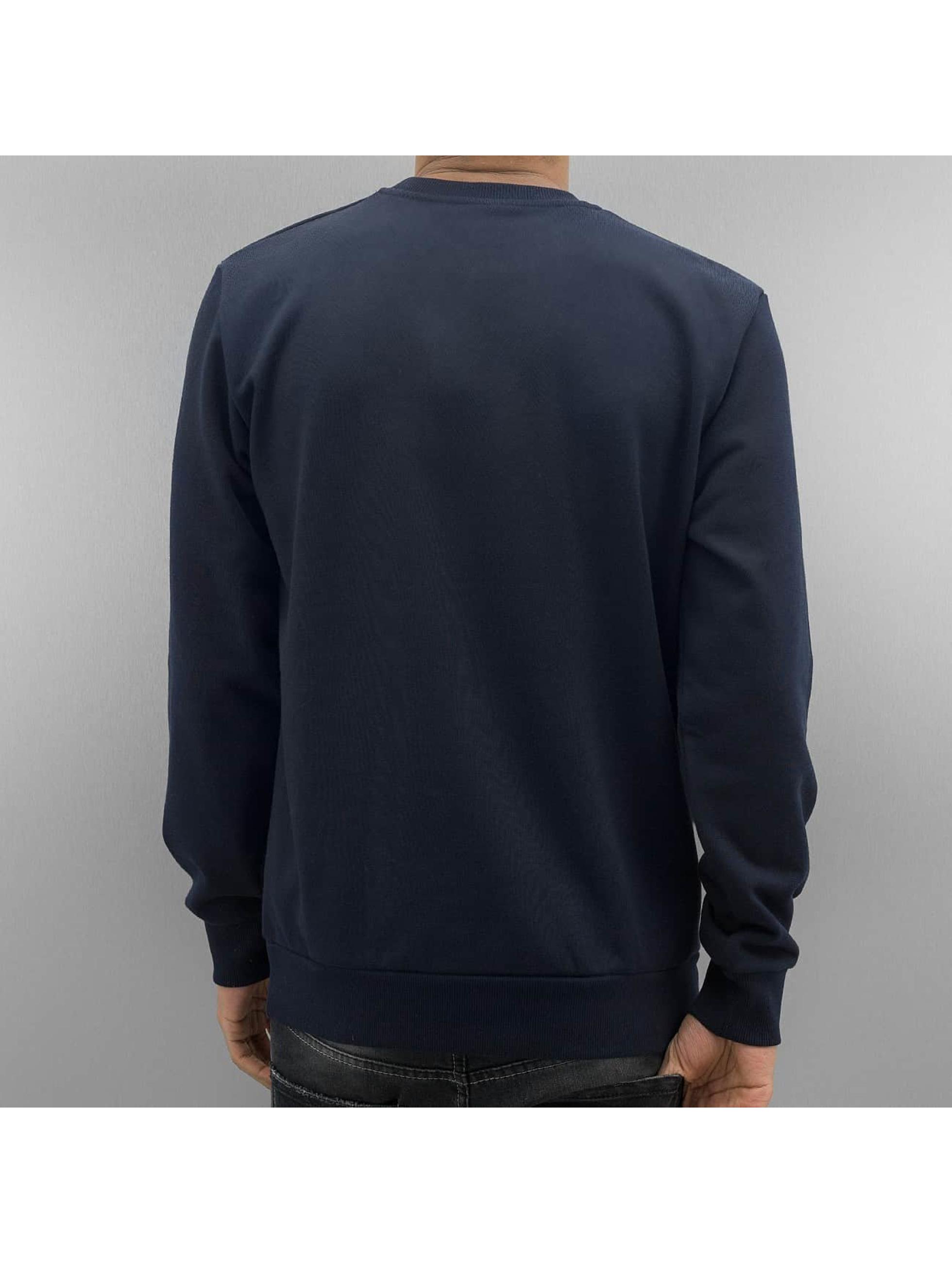 Carhartt WIP Jumper Script Embroidery blue