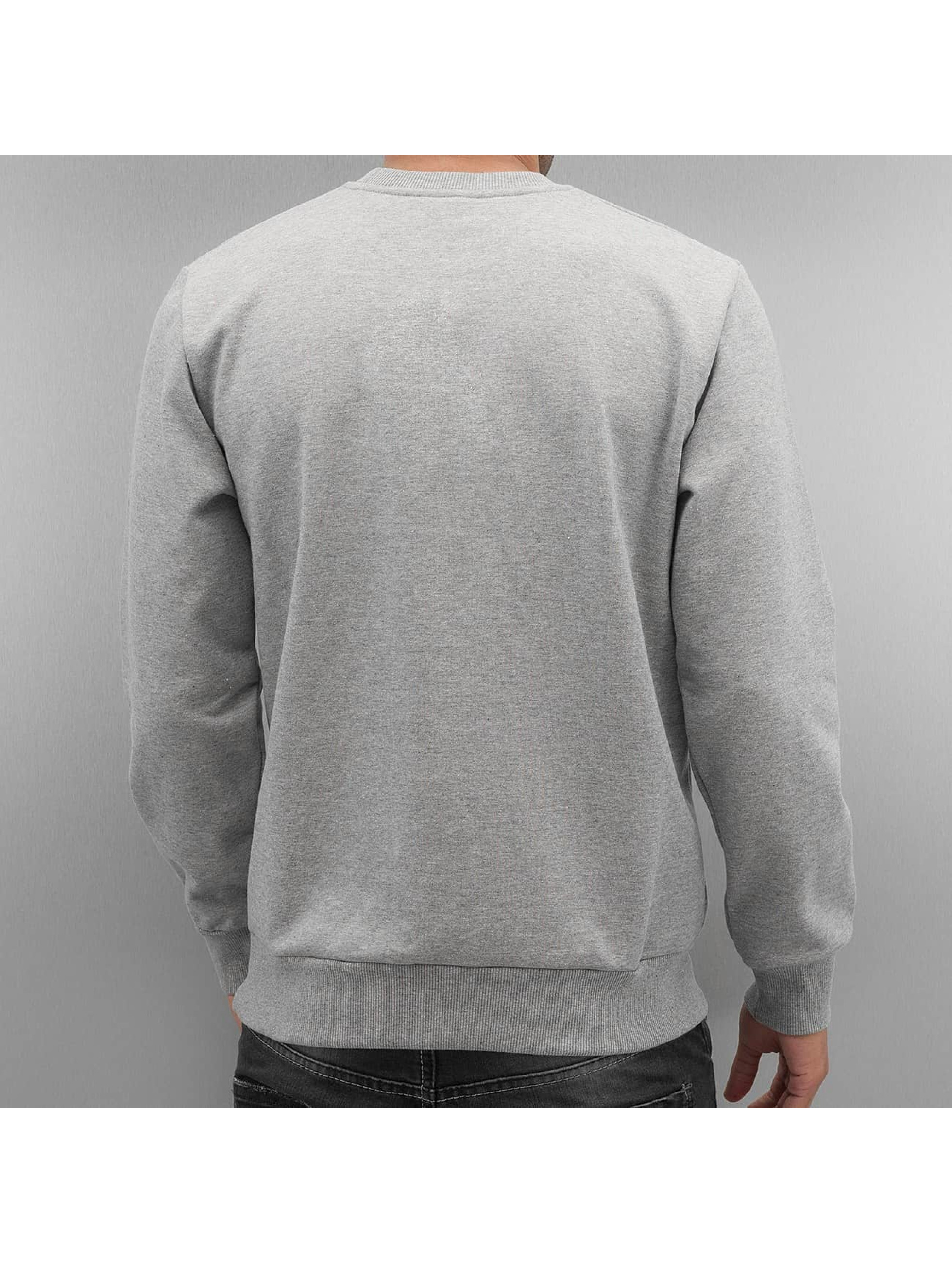 Carhartt WIP Jumper Script Embroidery grey