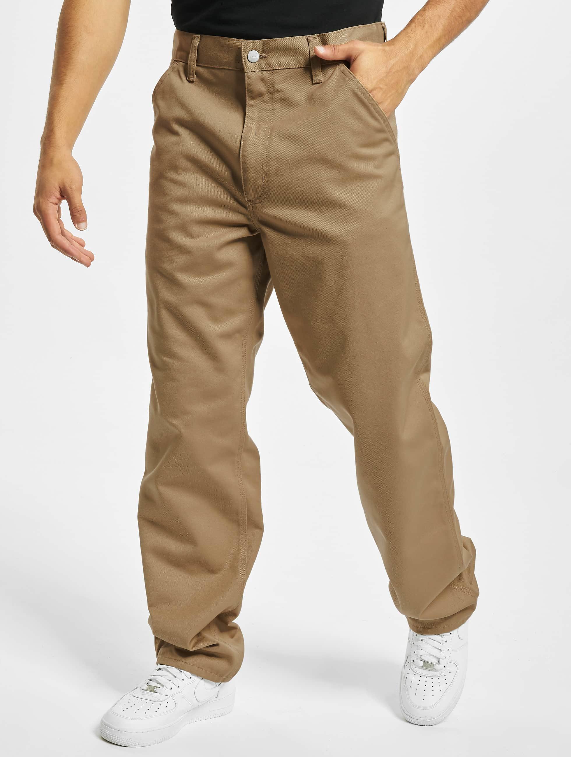 Carhartt WIP Løstsittende bukser Denison Twill Simple beige