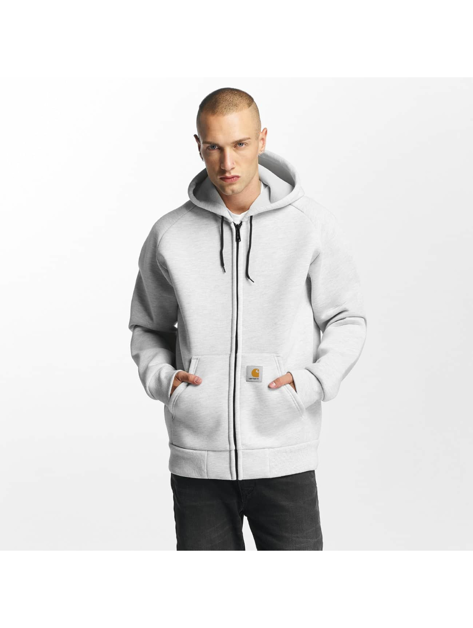 Carhartt WIP Lightweight Jacket Car-Lux Hooded gray