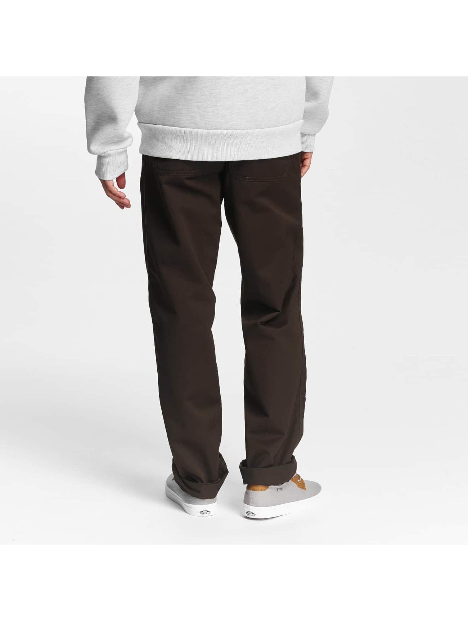 Carhartt WIP Loose Fit Jeans Denison brazowy