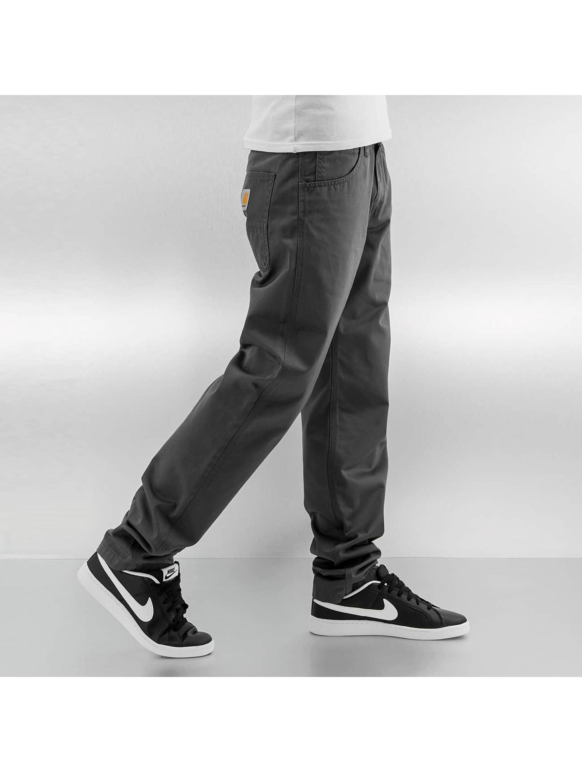 Carhartt WIP Loose Fit Jeans Cortez grau