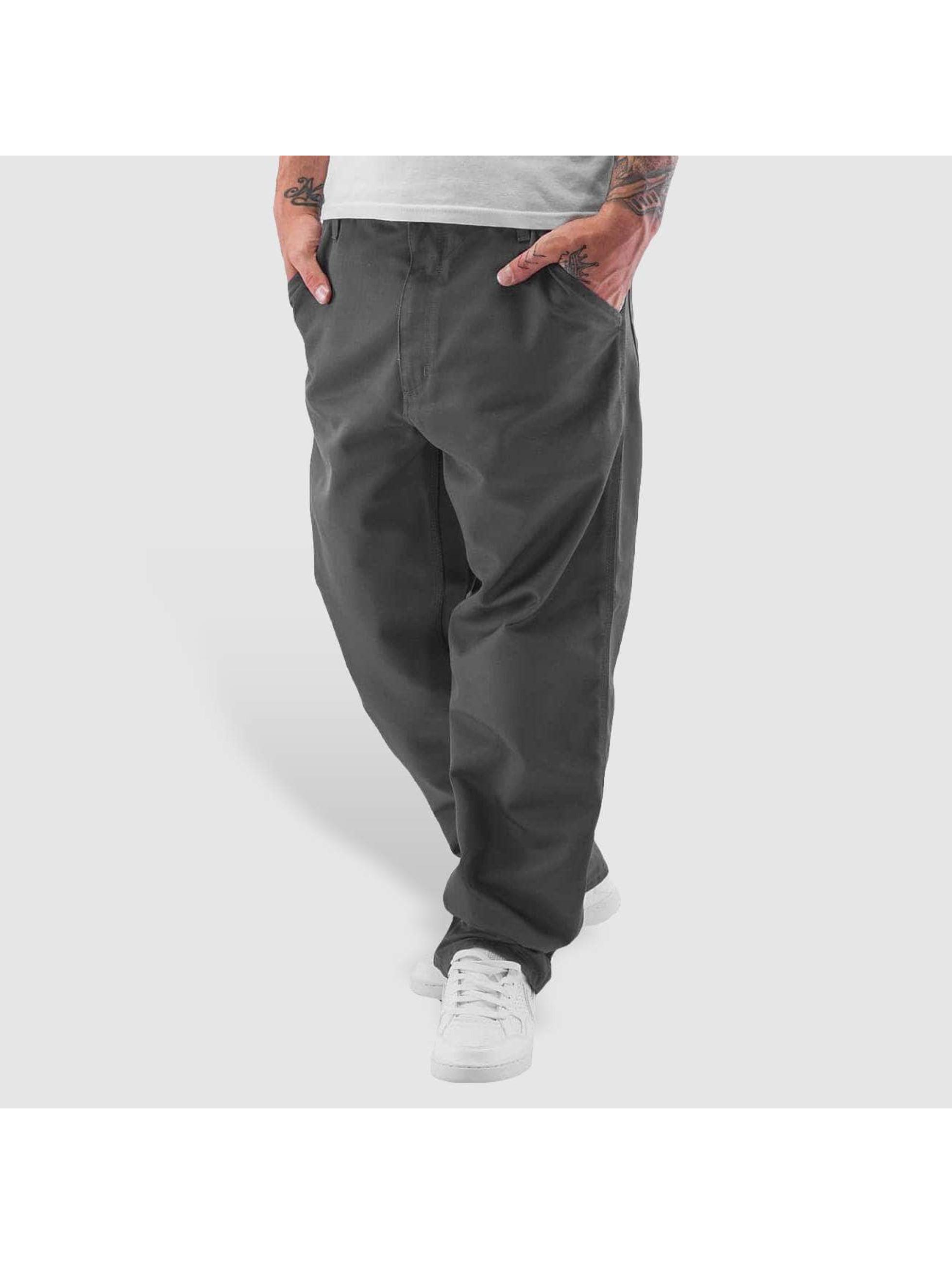 Carhartt WIP Loose fit jeans Denison Twill Simple svart