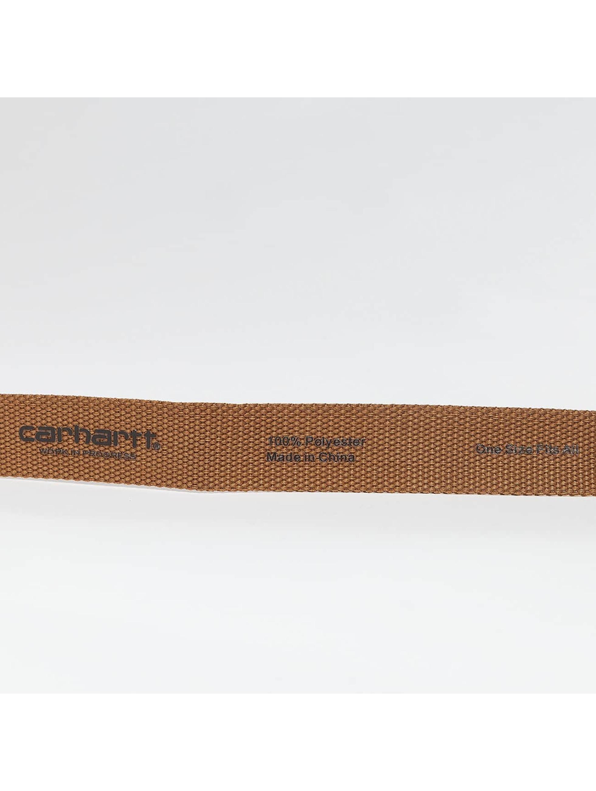 Carhartt WIP Paski Clip brazowy