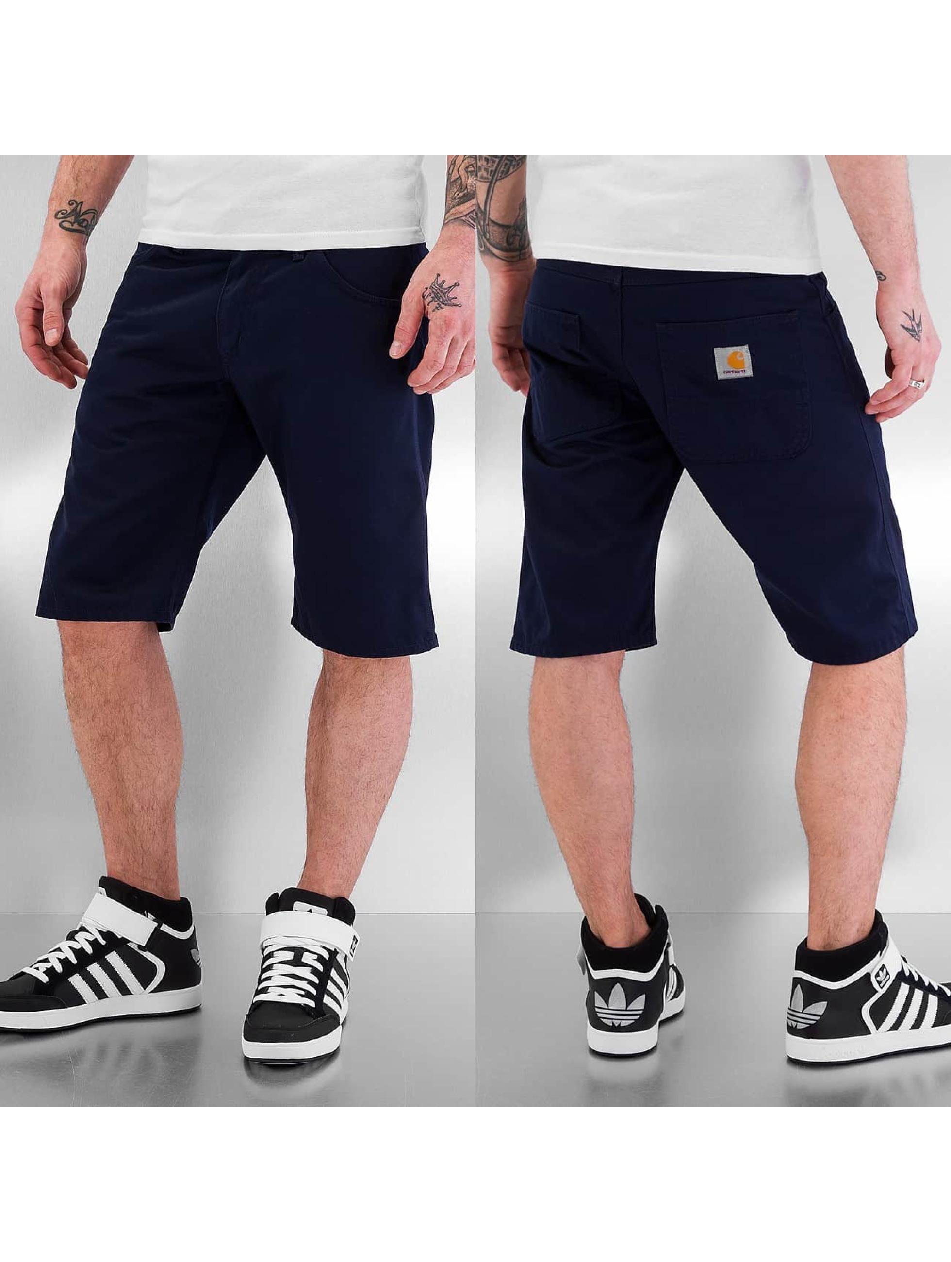 Carhartt WIP Shorts Cortez Straight Fit Skill blau