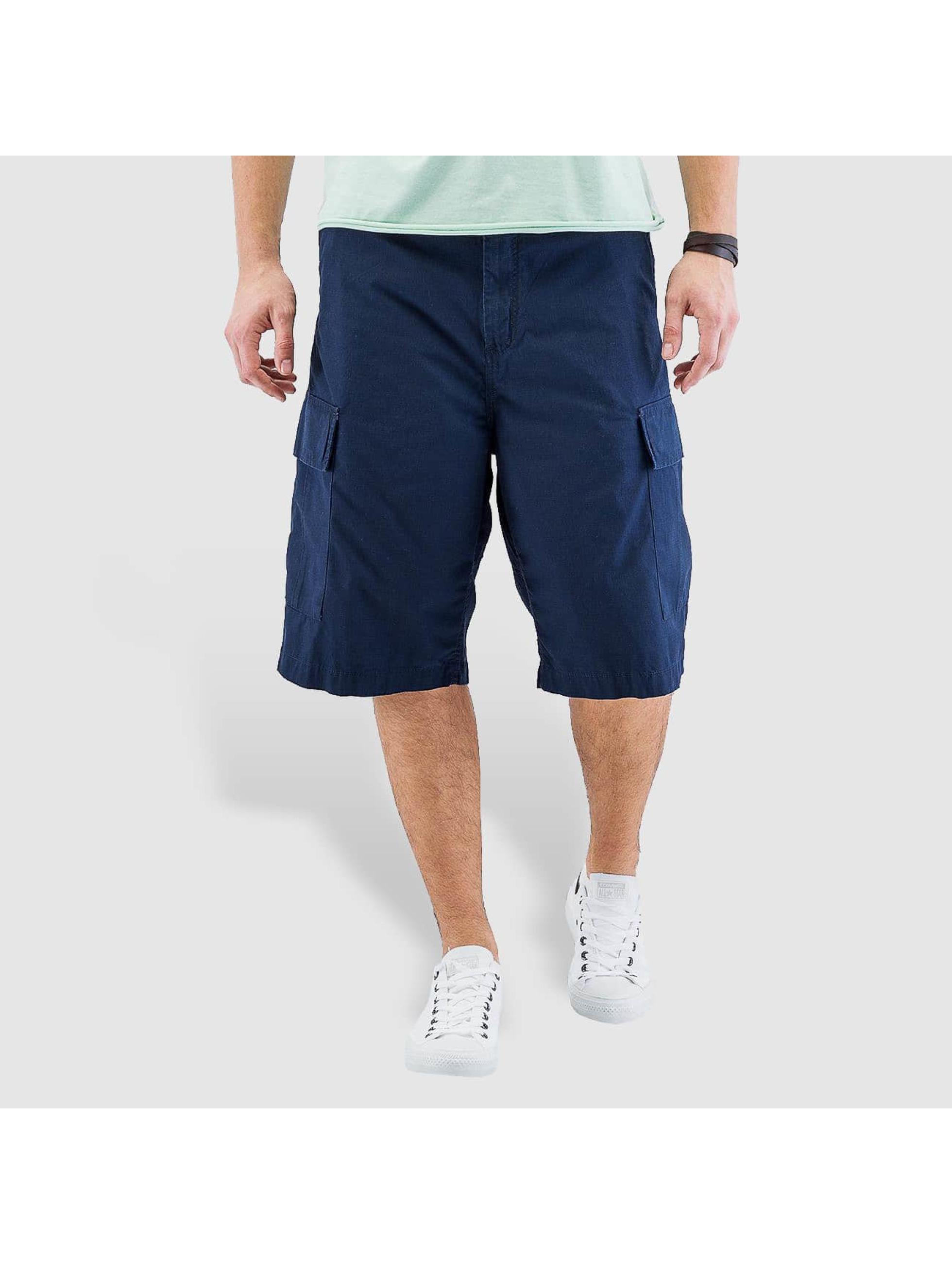 Carhartt WIP Shorts Columbia Ripstop blau