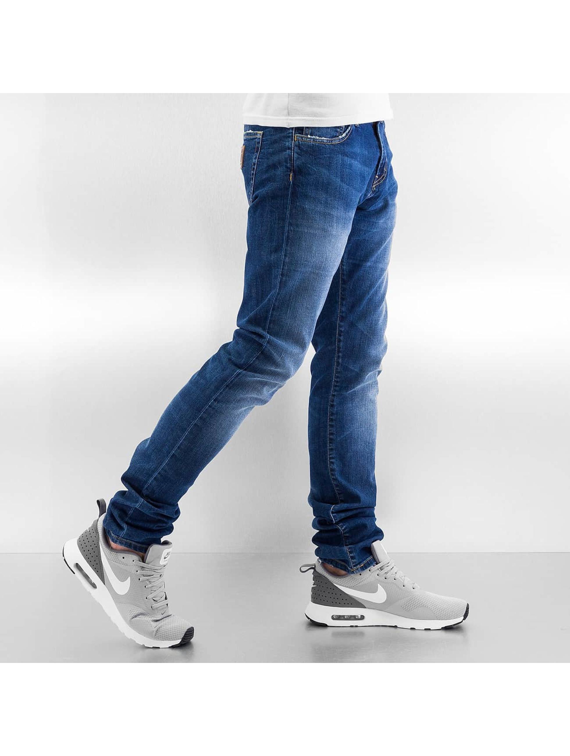 Carhartt WIP Skinny Jeans Colfax Rebel blau