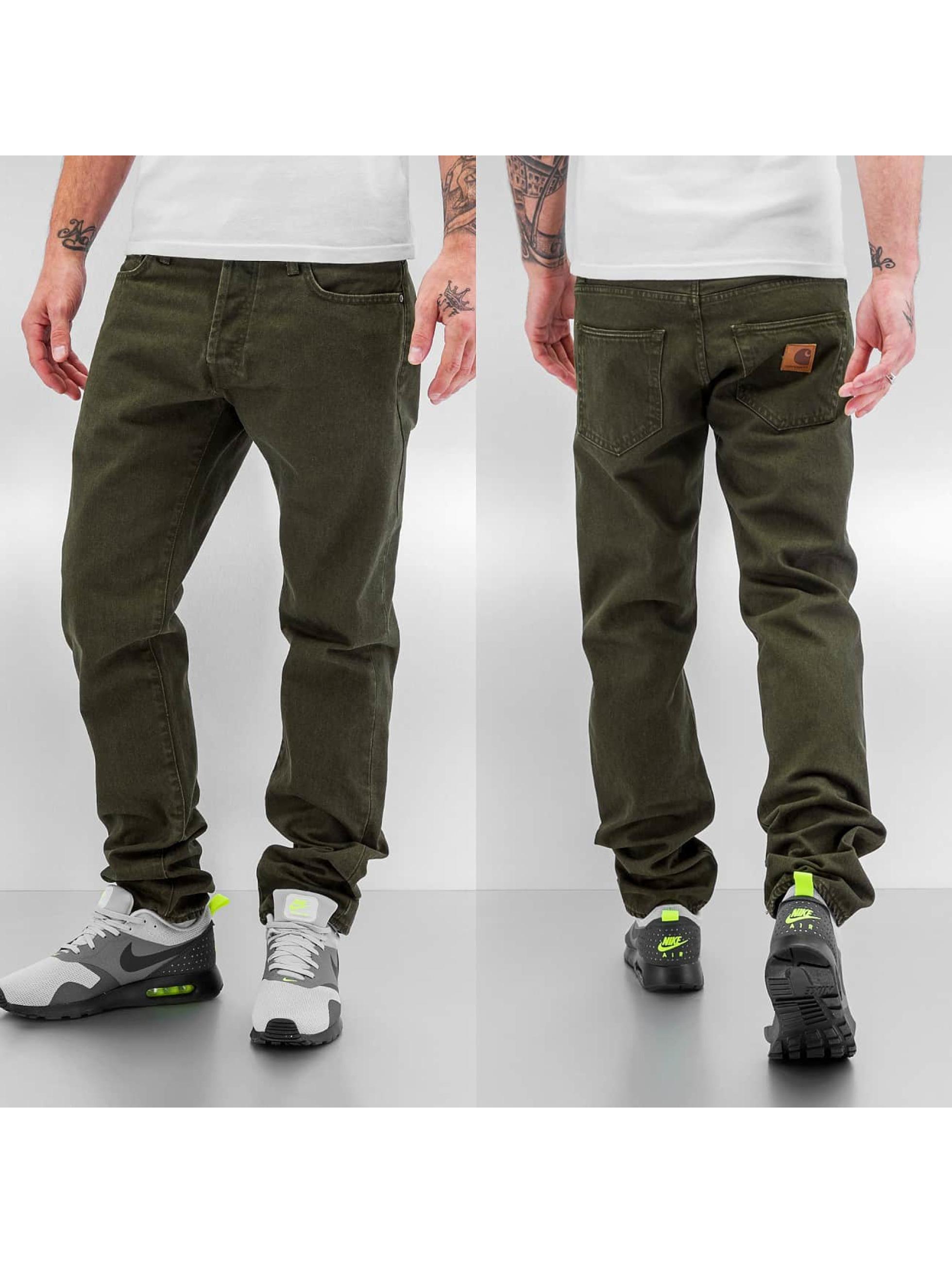 Carhartt WIP Skinny Jeans Orlando Klondike II grün