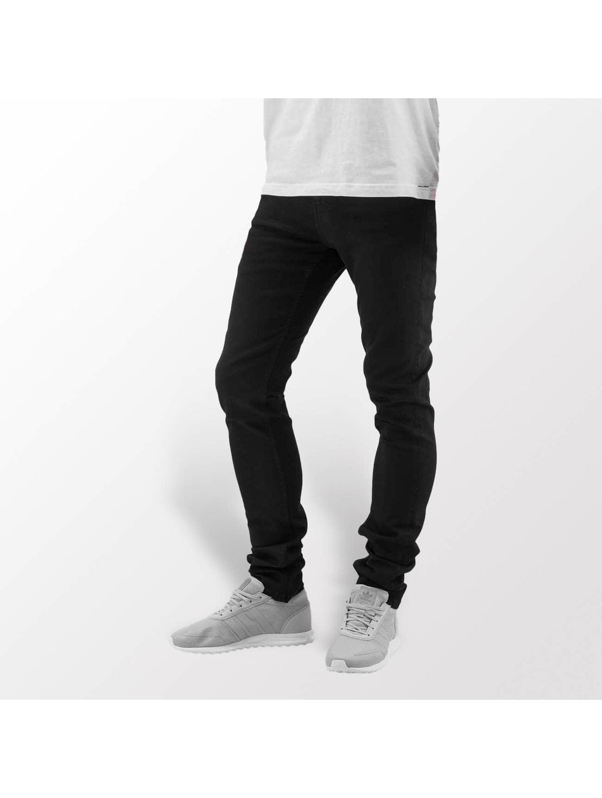 Carhartt WIP Skinny Jeans Blaine Stretch Denim Trevor schwarz