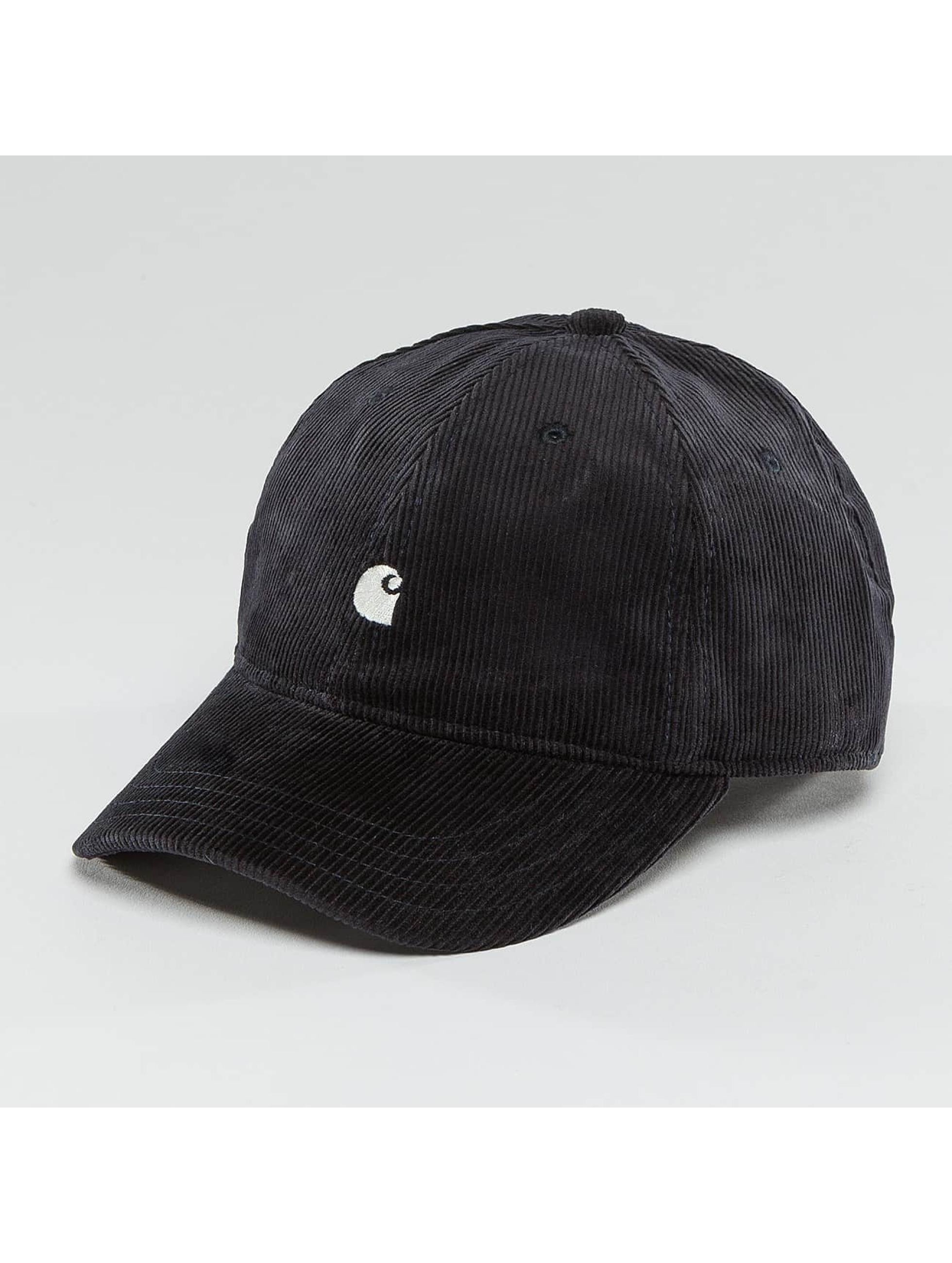 Carhartt WIP Snapback Cap Madison Logo Cord blau