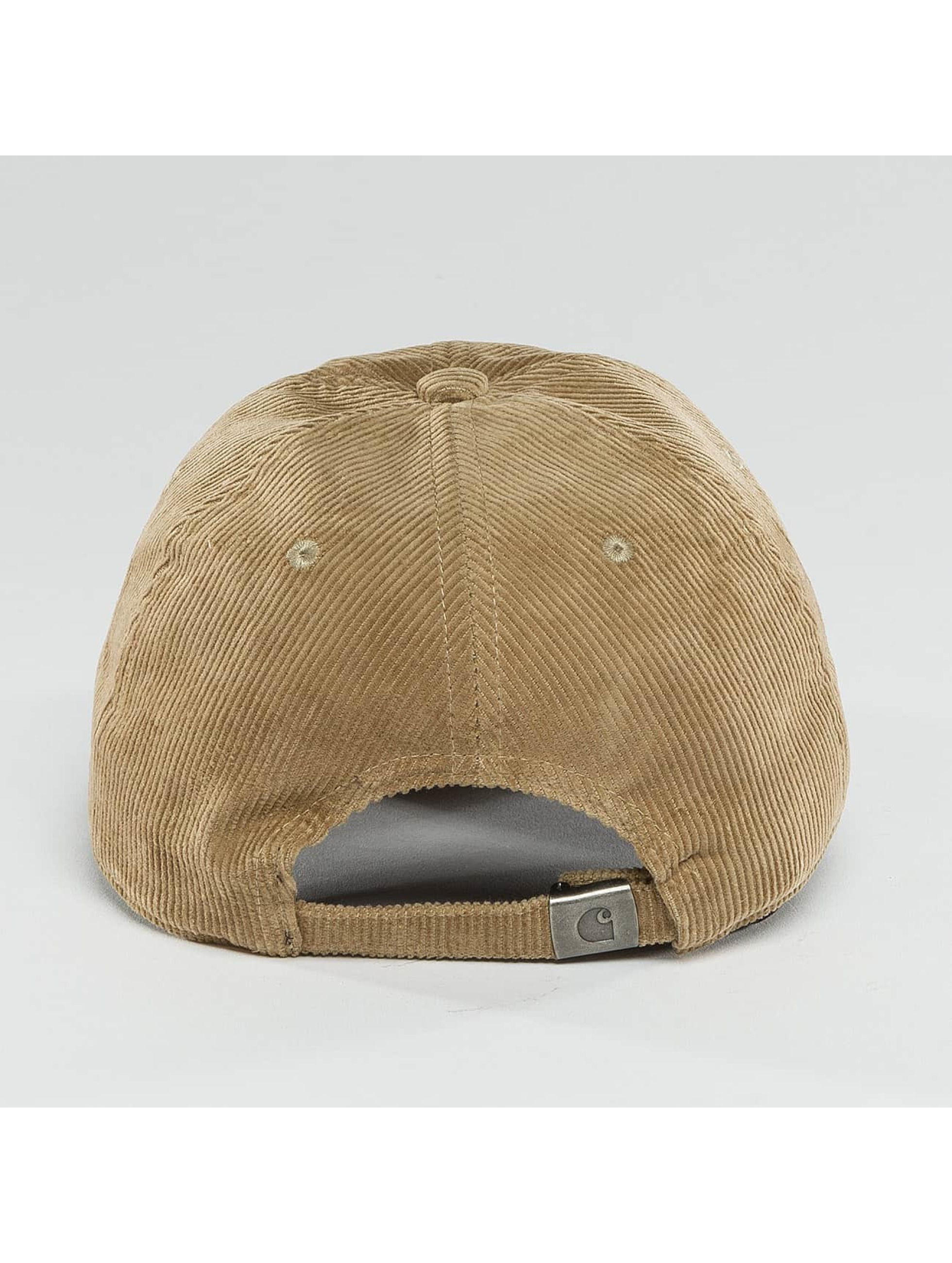Carhartt WIP Snapback Caps Madison Logo Cord beige