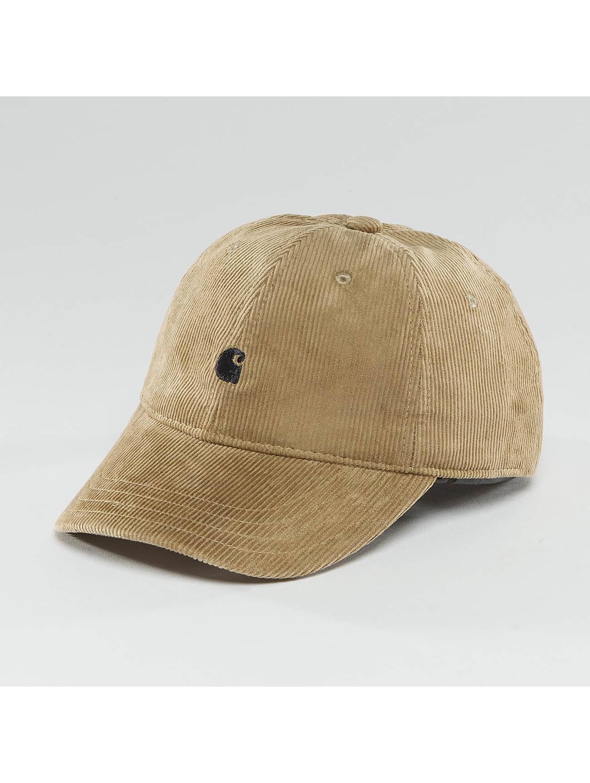 Carhartt WIP Snapback Caps Madison Logo Cord bezowy