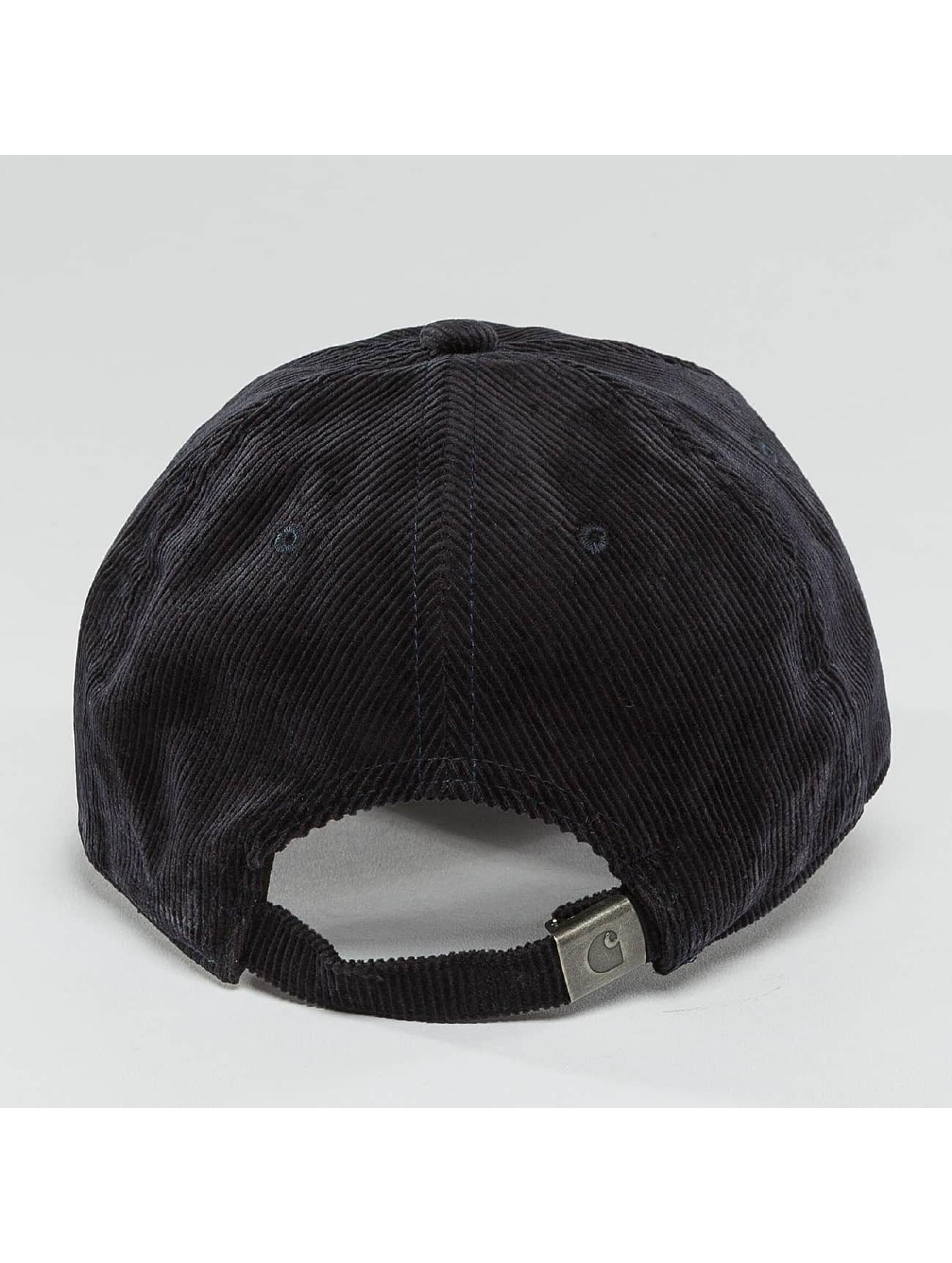Carhartt WIP Snapback Caps Madison Logo Cord blå