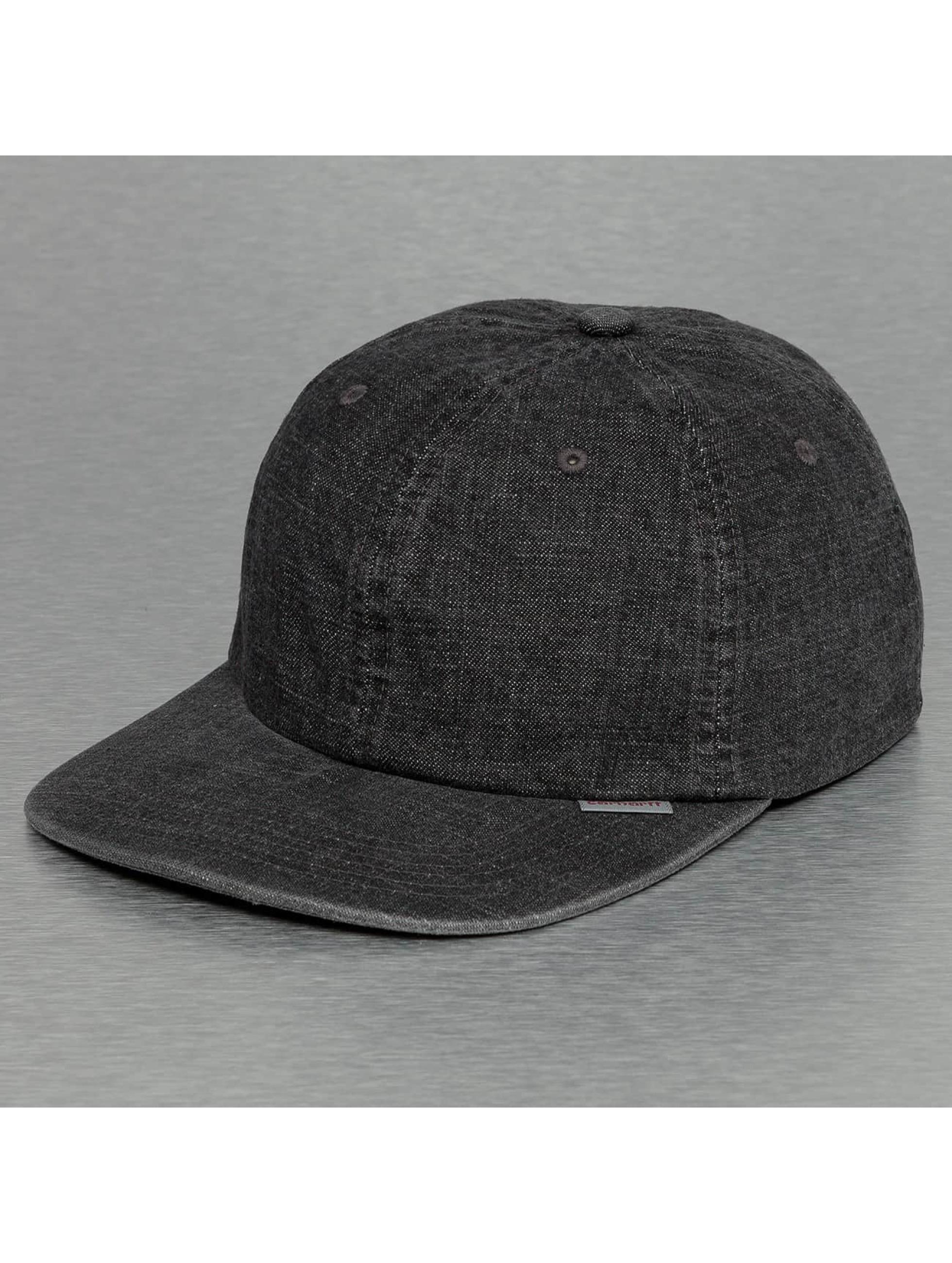 Carhartt WIP Snapback Caps Denim czarny