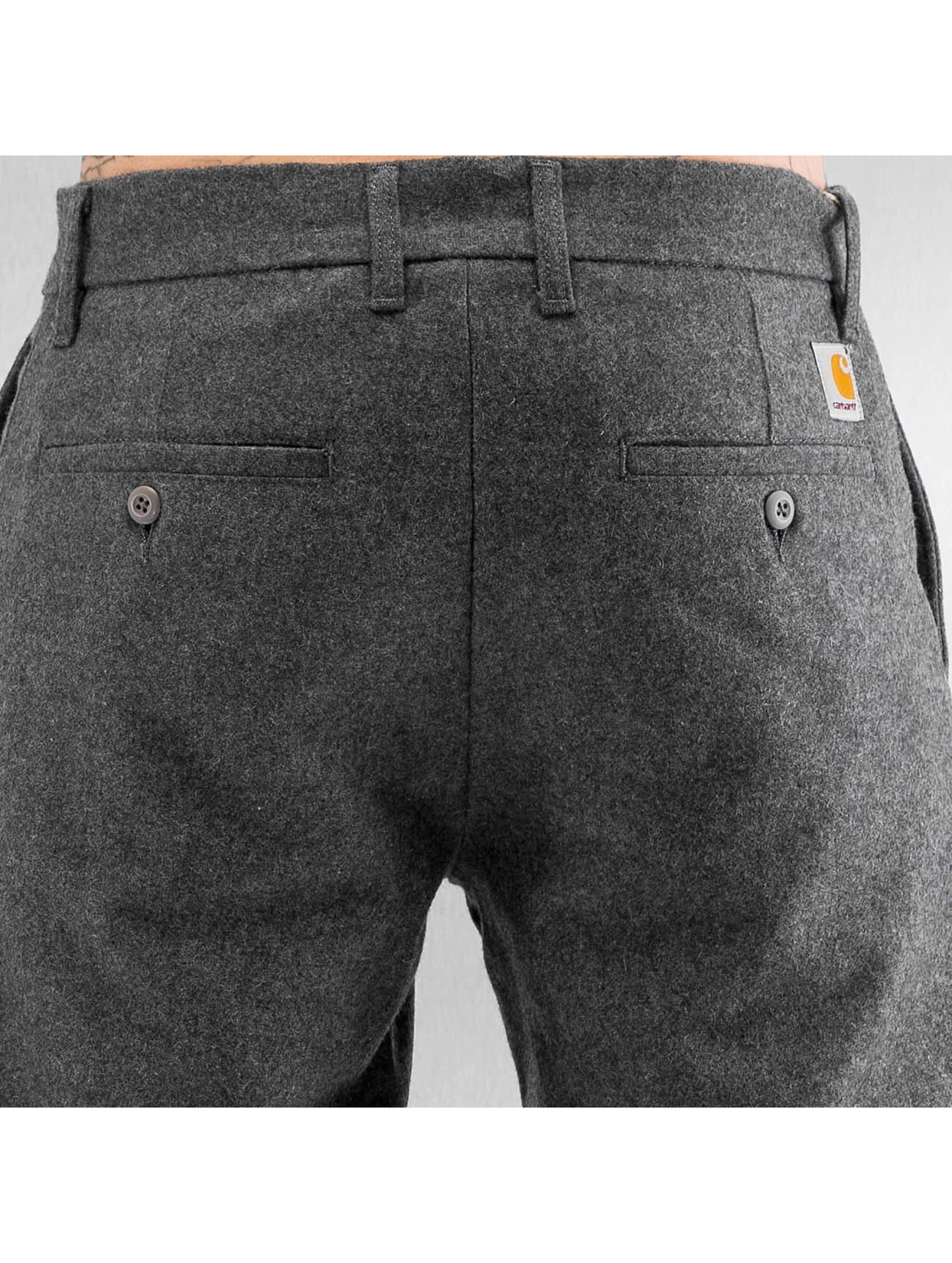 Carhartt WIP Spodnie wizytowe Southbury Johnson szary
