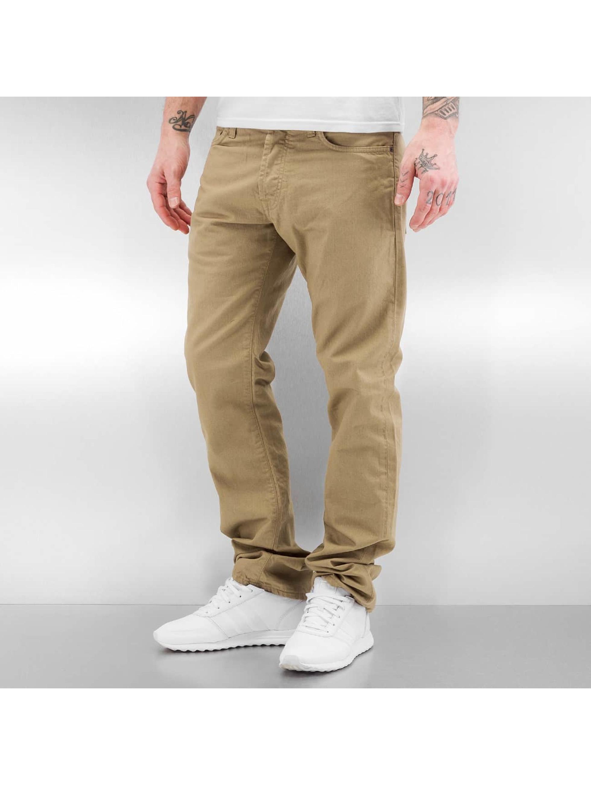 Carhartt WIP Straight Fit Jeans Oakland beige