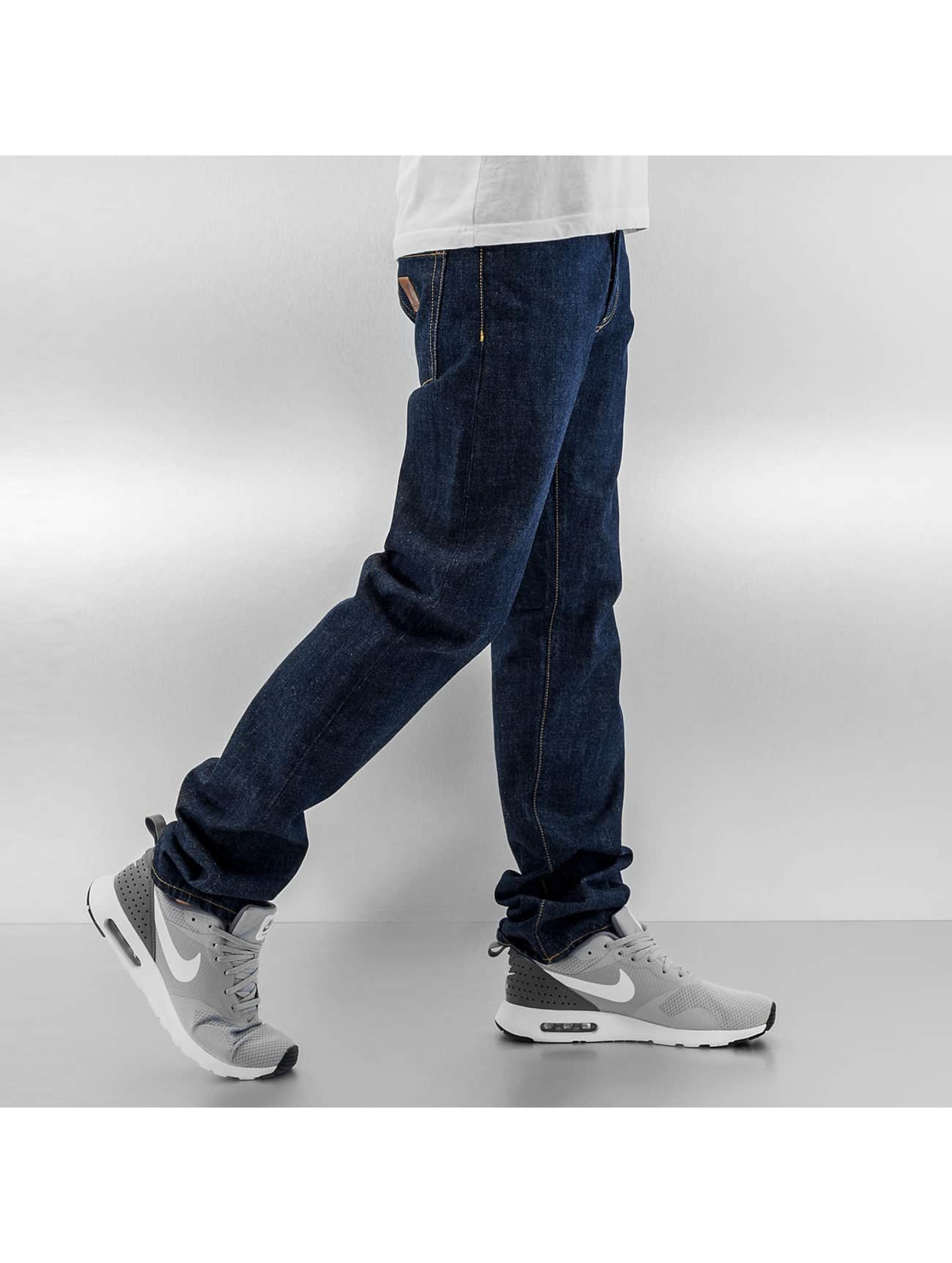 Carhartt WIP Straight Fit Jeans WIP Edgewood Oakland blå