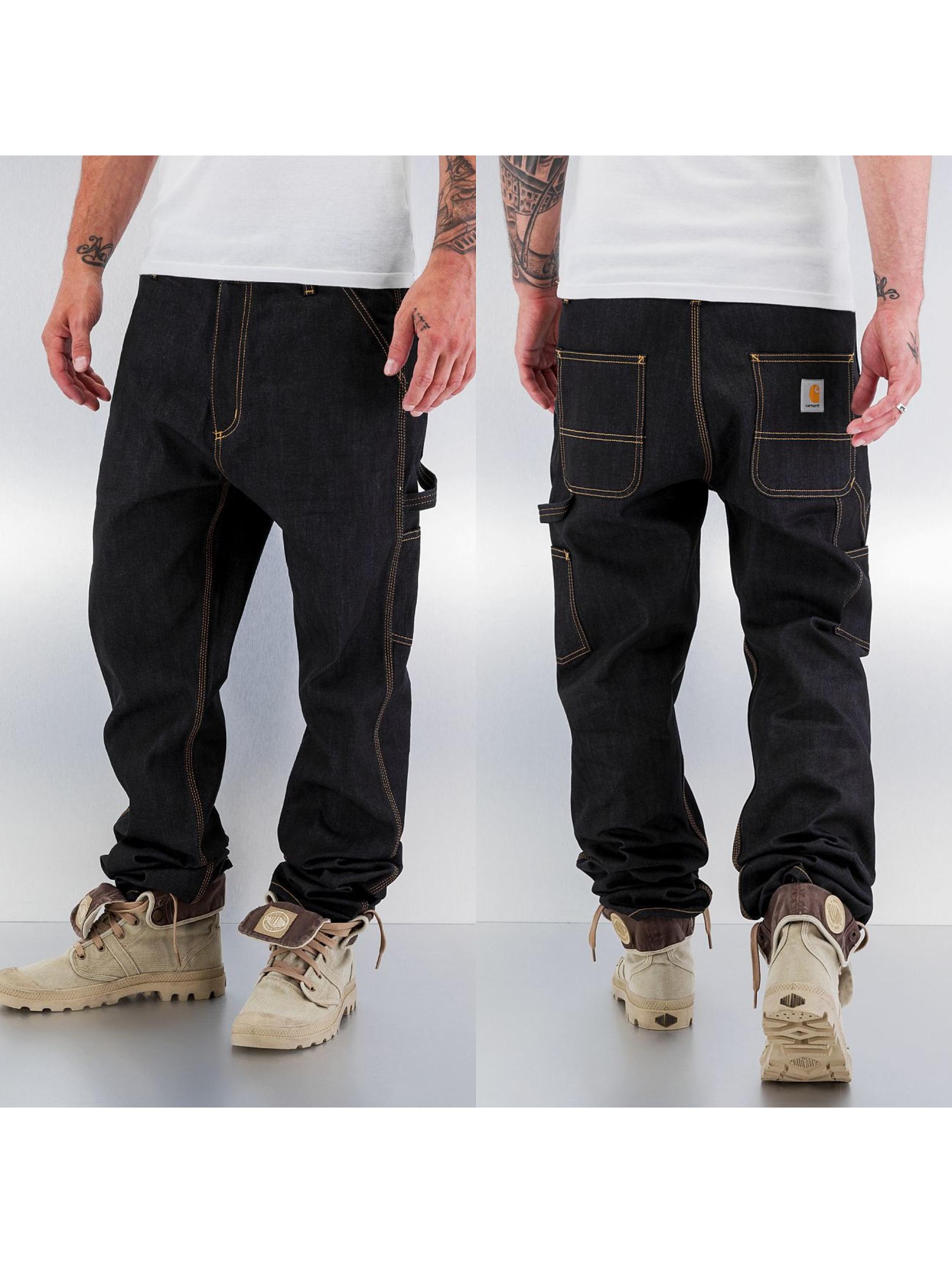 Carhartt WIP Straight Fit Jeans Merced Slim Fit Single Knee II blau
