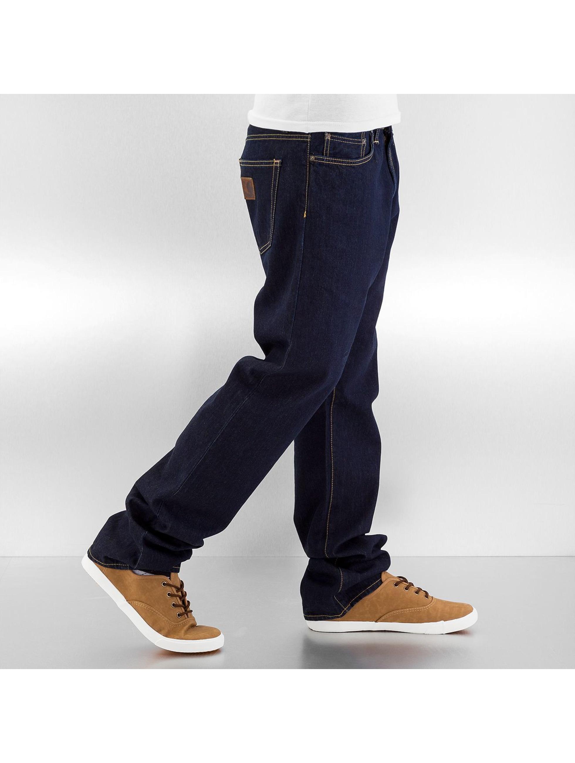 Carhartt WIP Straight Fit Jeans Tracy blau