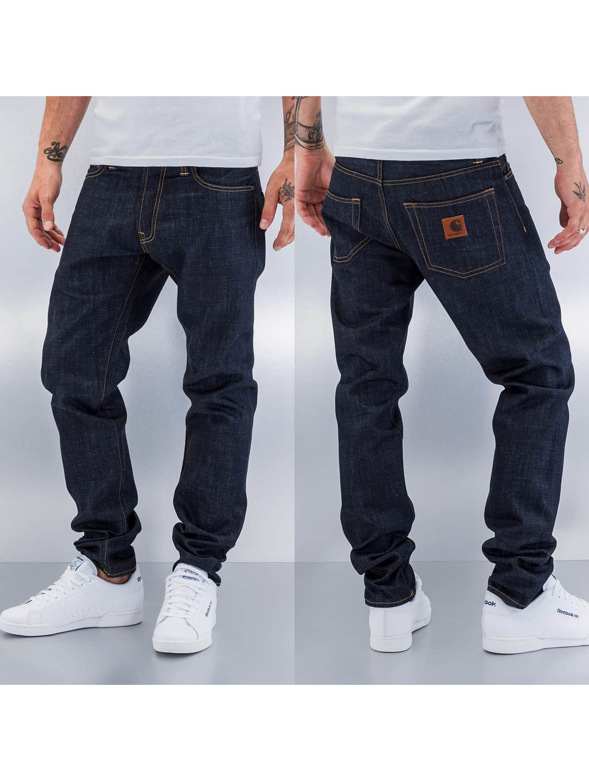 carhartt wip herren straight fit jeans edgewood klondike. Black Bedroom Furniture Sets. Home Design Ideas