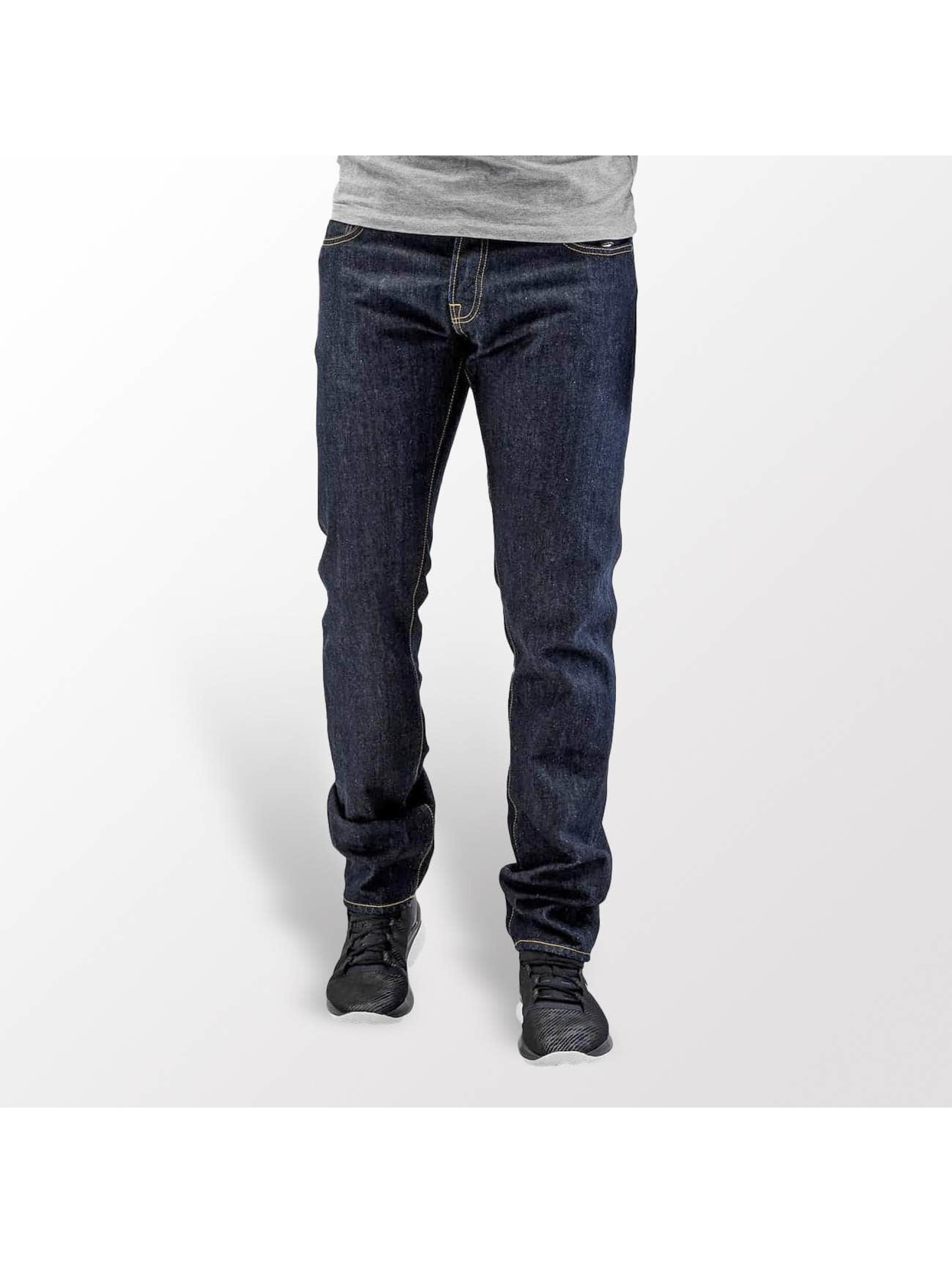 Carhartt WIP Straight Fit Jeans Hanford Buccaneer blue