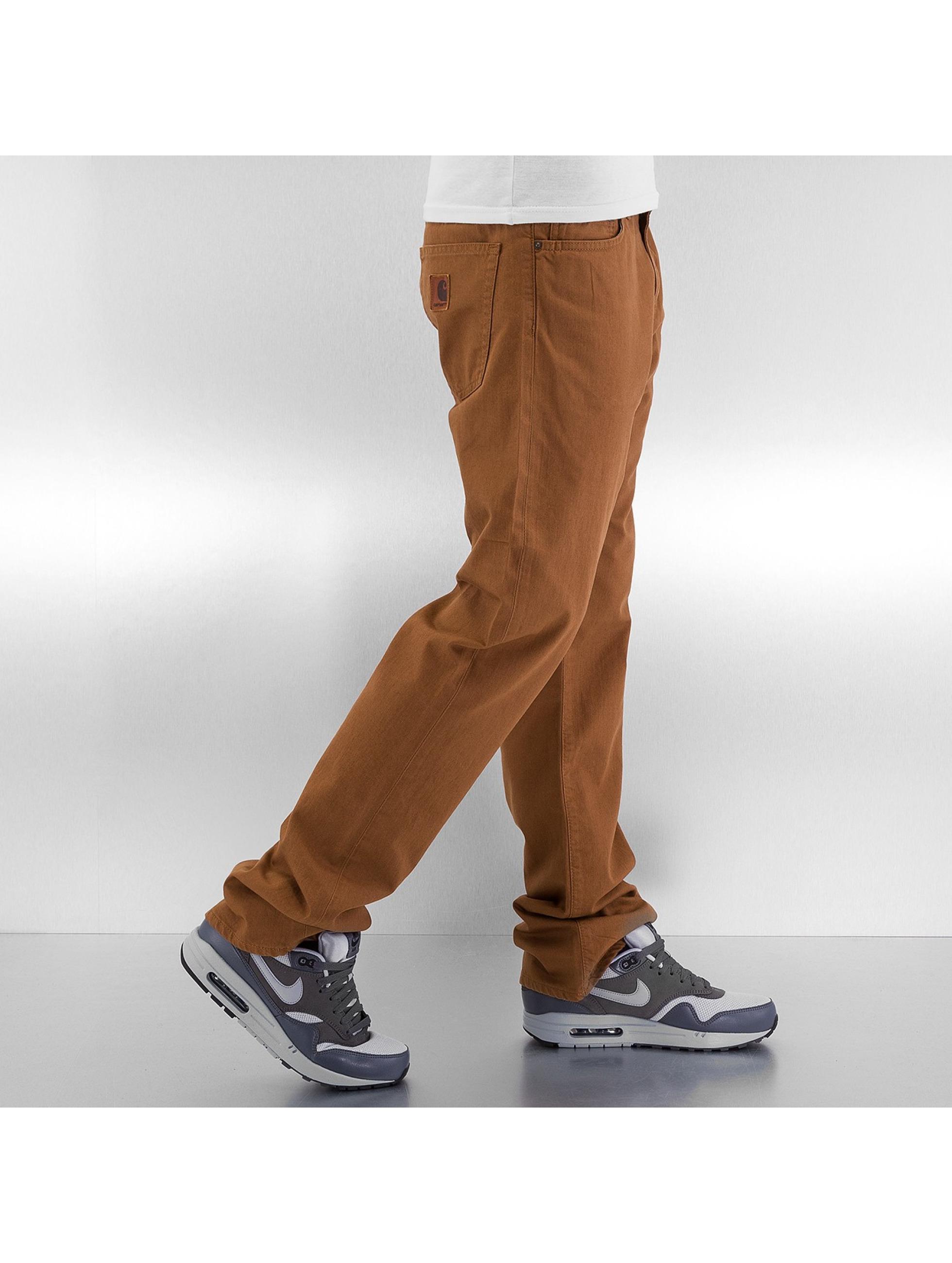 Carhartt WIP Straight Fit Jeans Alabama Davies braun