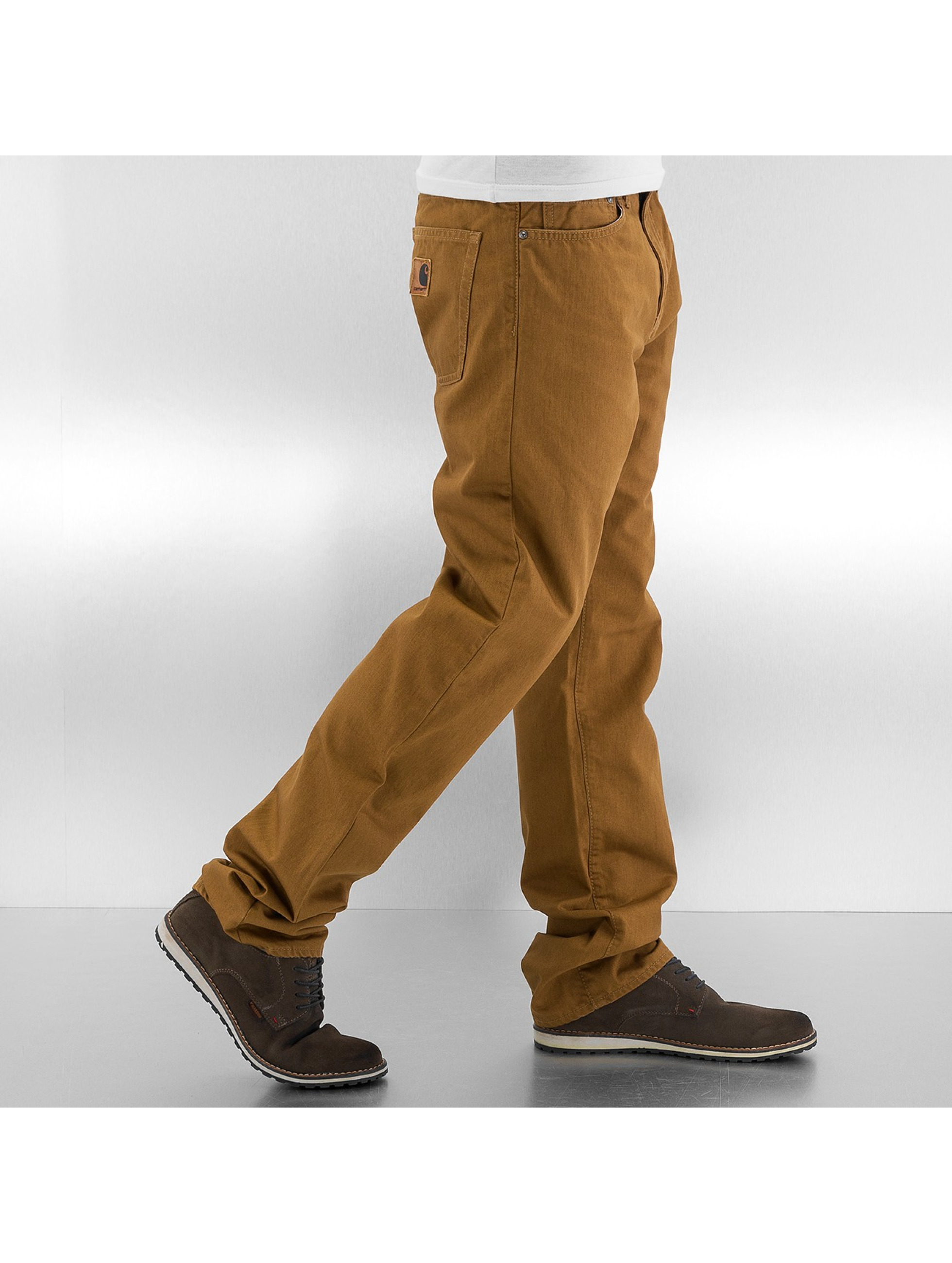 Carhartt WIP Straight Fit Jeans Louisiana braun