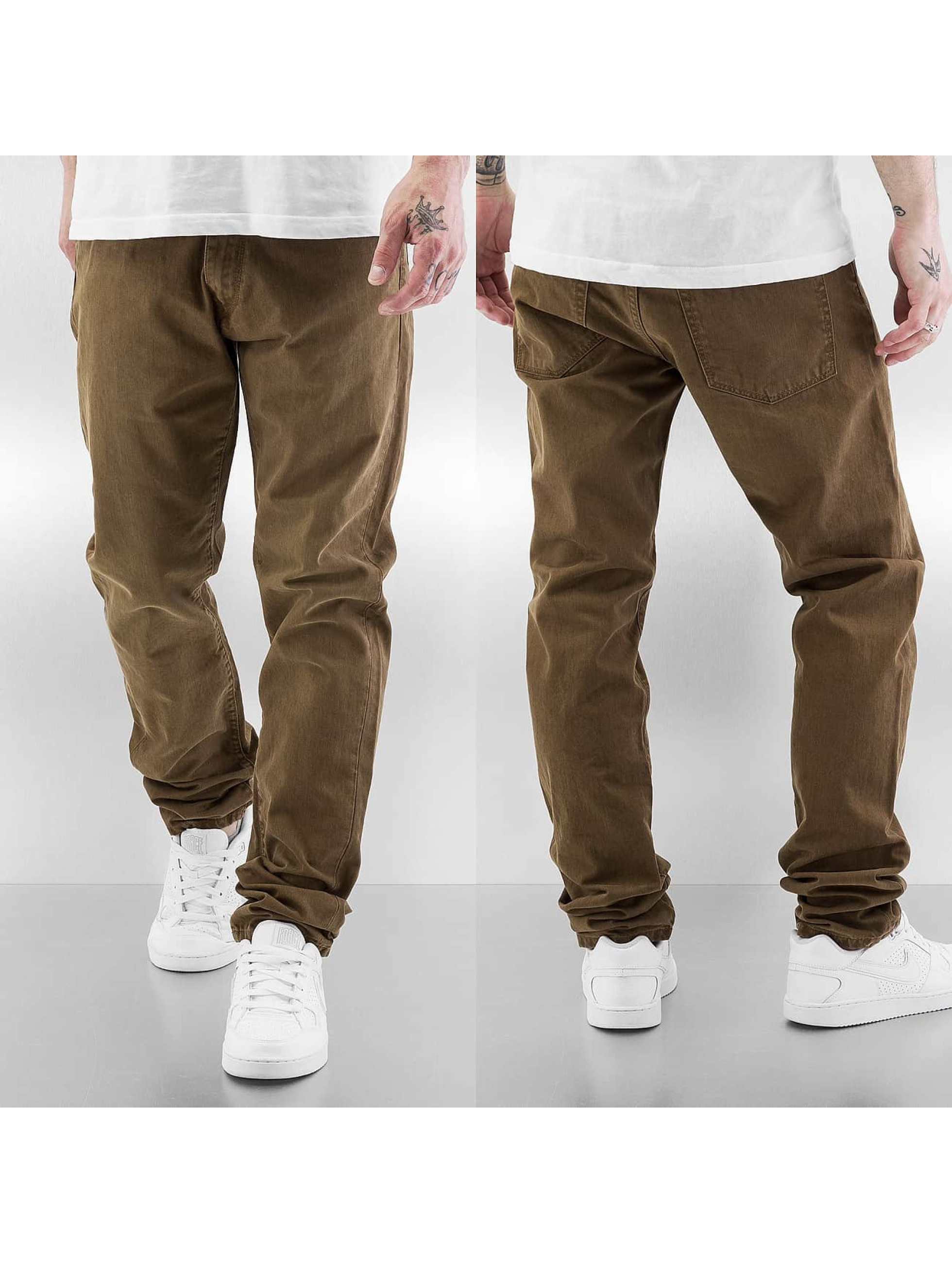 Carhartt WIP Straight Fit Jeans Louisiana brown