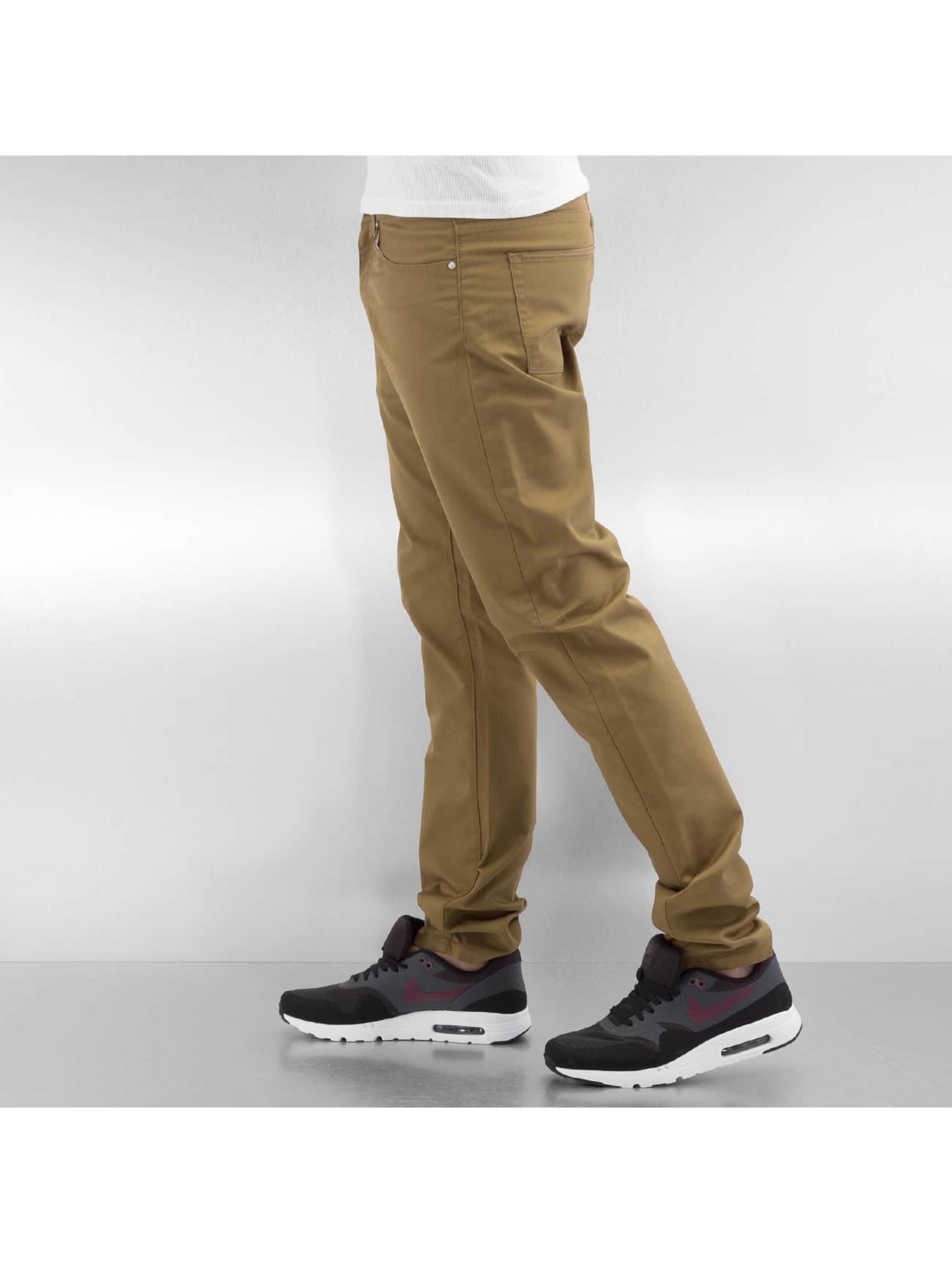 Carhartt WIP Straight Fit Jeans Hamilton brown