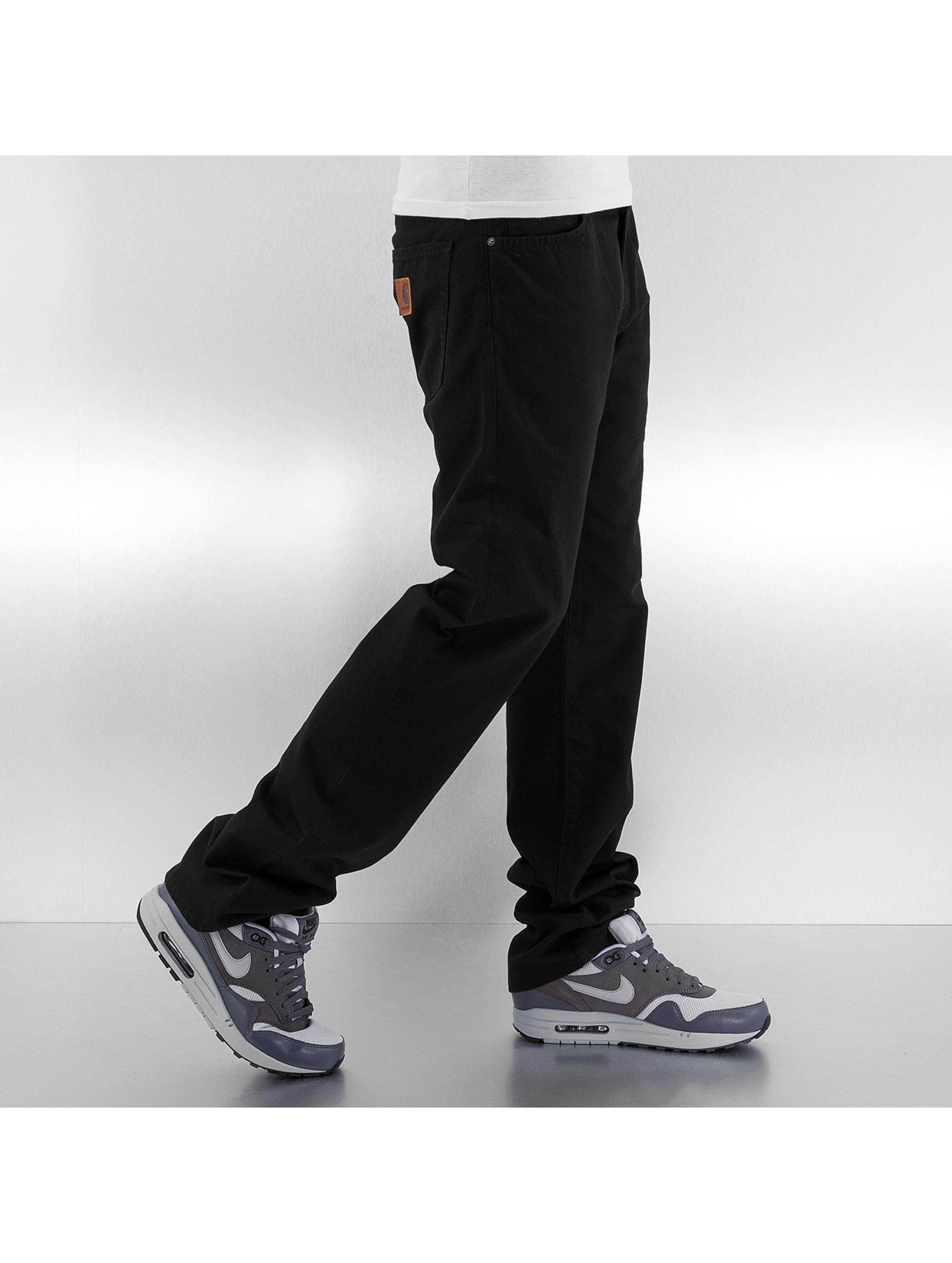 Carhartt WIP Straight Fit Jeans Alabama Davies schwarz