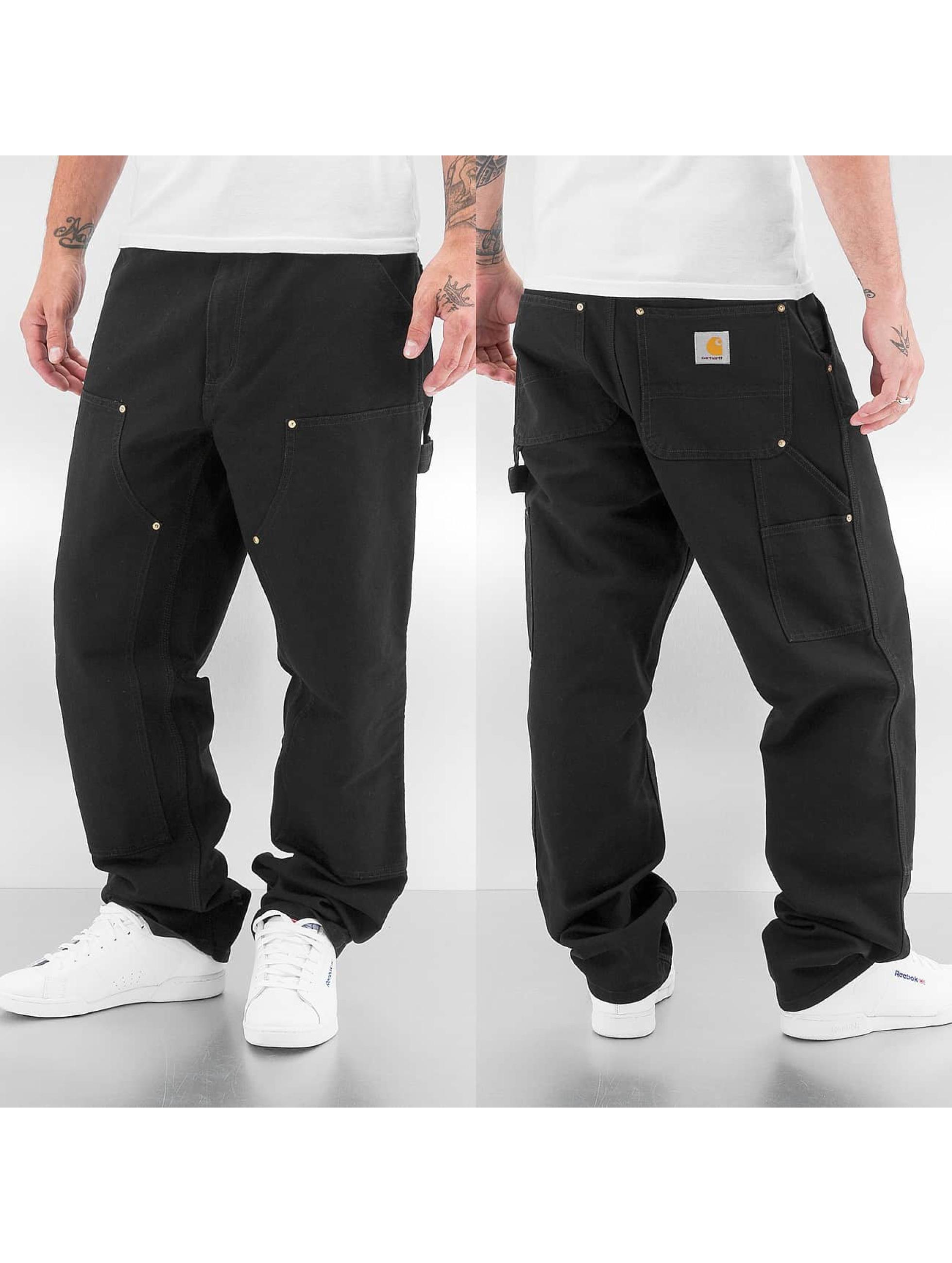 Carhartt WIP Straight Fit Jeans Turner Double Knee schwarz